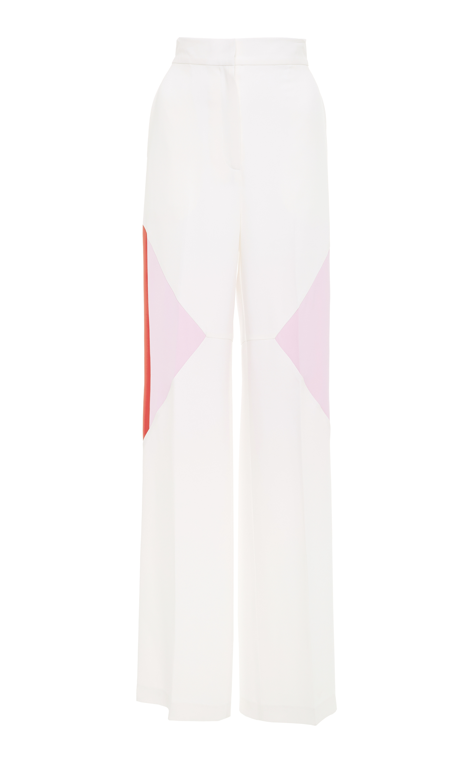 WENDELBORN High Waisted Track Pant in White