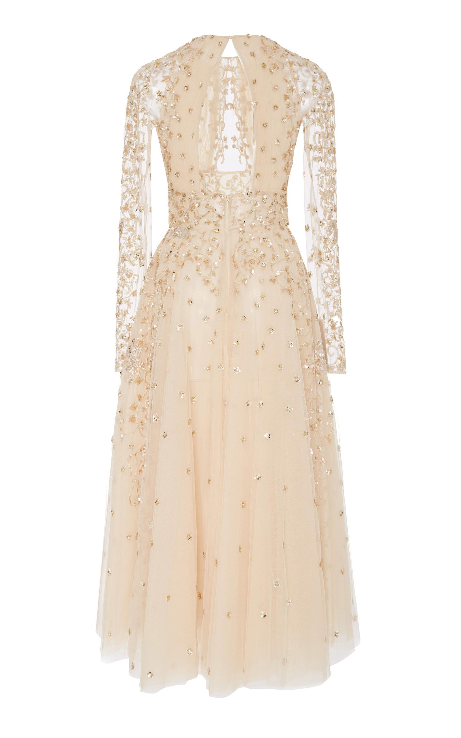 ea819e172b09 Zuhair MuradArianna Embellished Silk Midi Dress. CLOSE. Loading. Loading