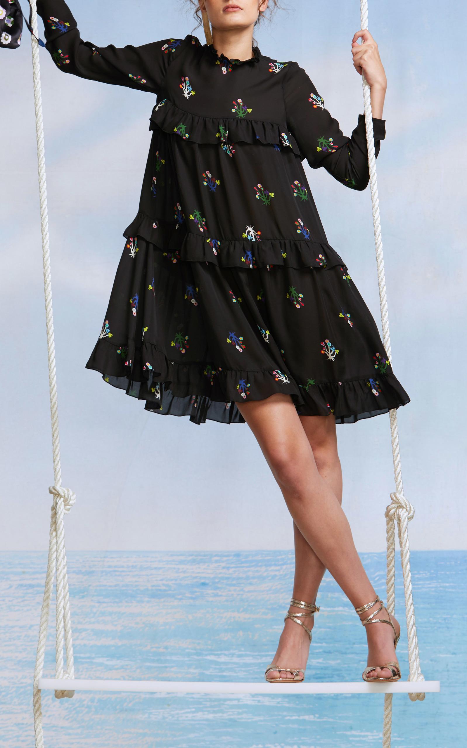 d1cb5b373e7 Cynthia RowleyHigh Tide Tiered Ruffle Dress. CLOSE. Loading