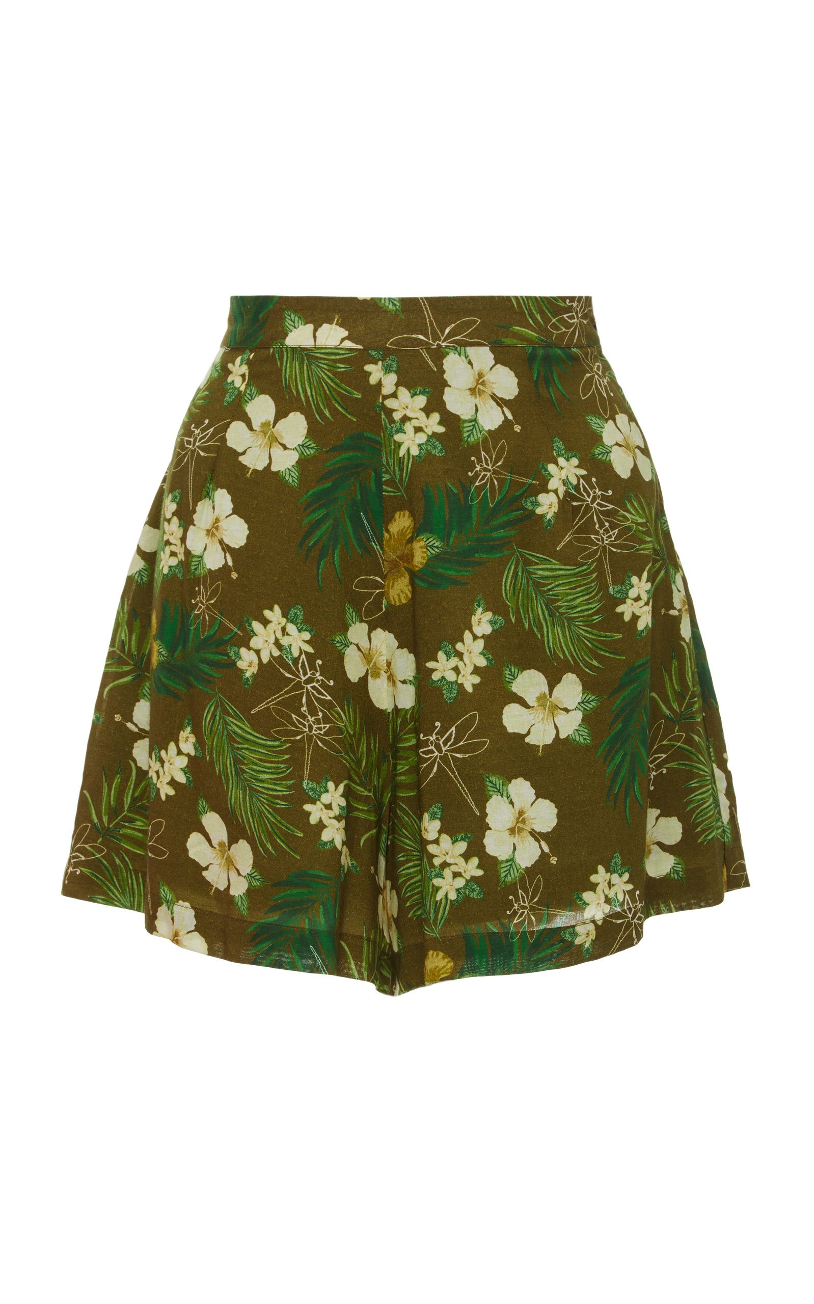 Axa Floral-Print Voile ShortsMiguelina