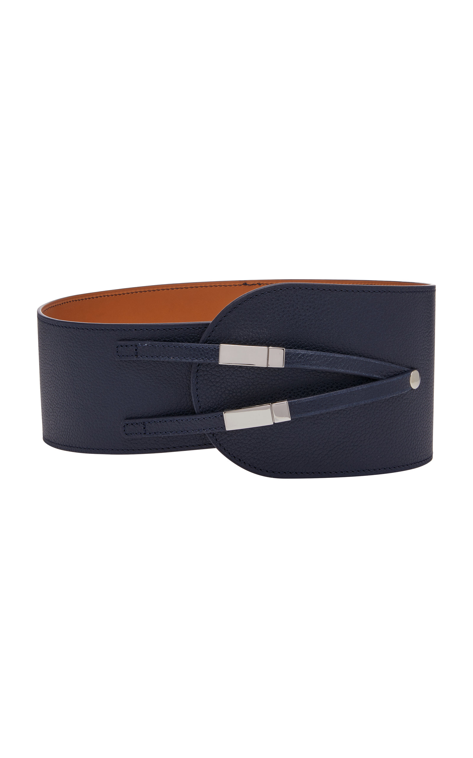 MAISON VAINCOURT M'O EXCLUSIVE KYOTO WIDE LEATHER BELT