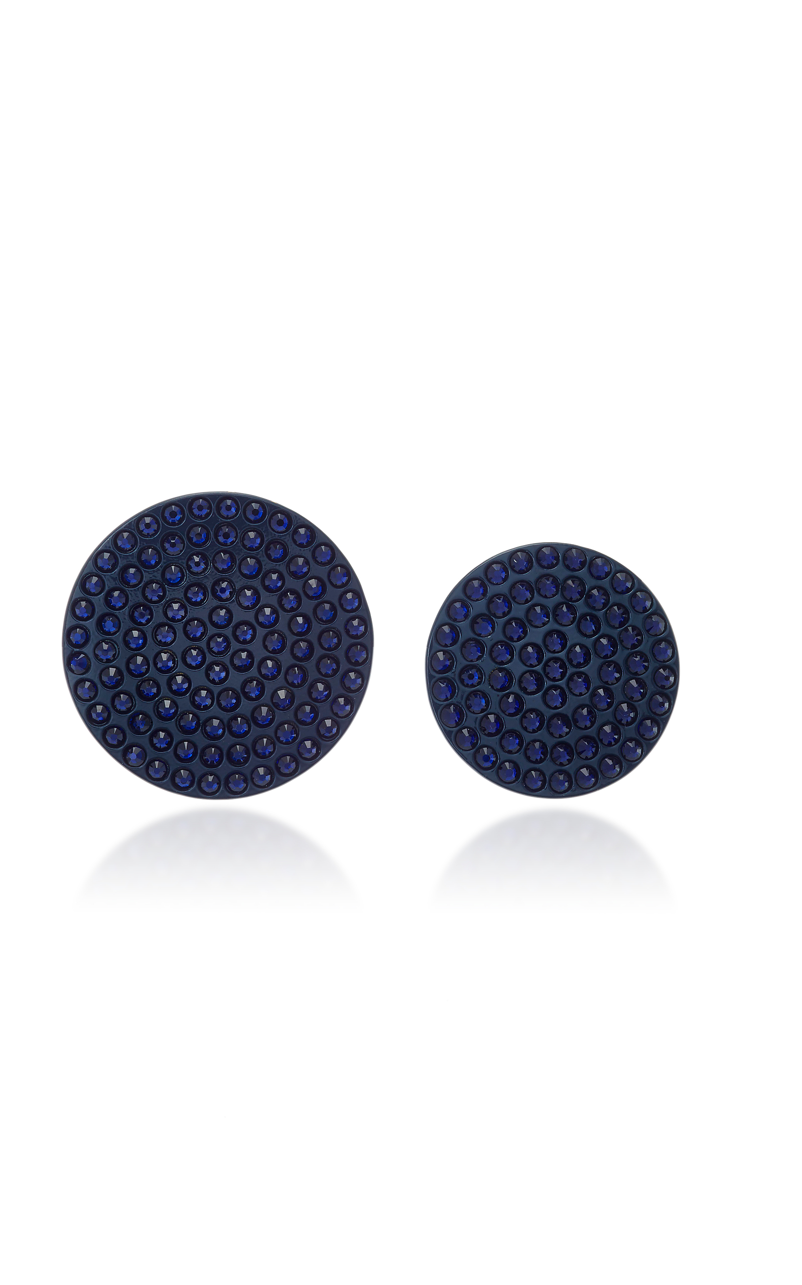 Roxanne Assoulin Full Moon Navy Earrings ulVQKnfz