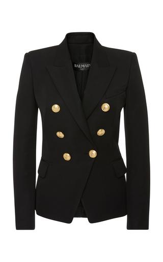 BALMAIN | Balmain Tailored Double-Breasted Wool Blazer | Goxip