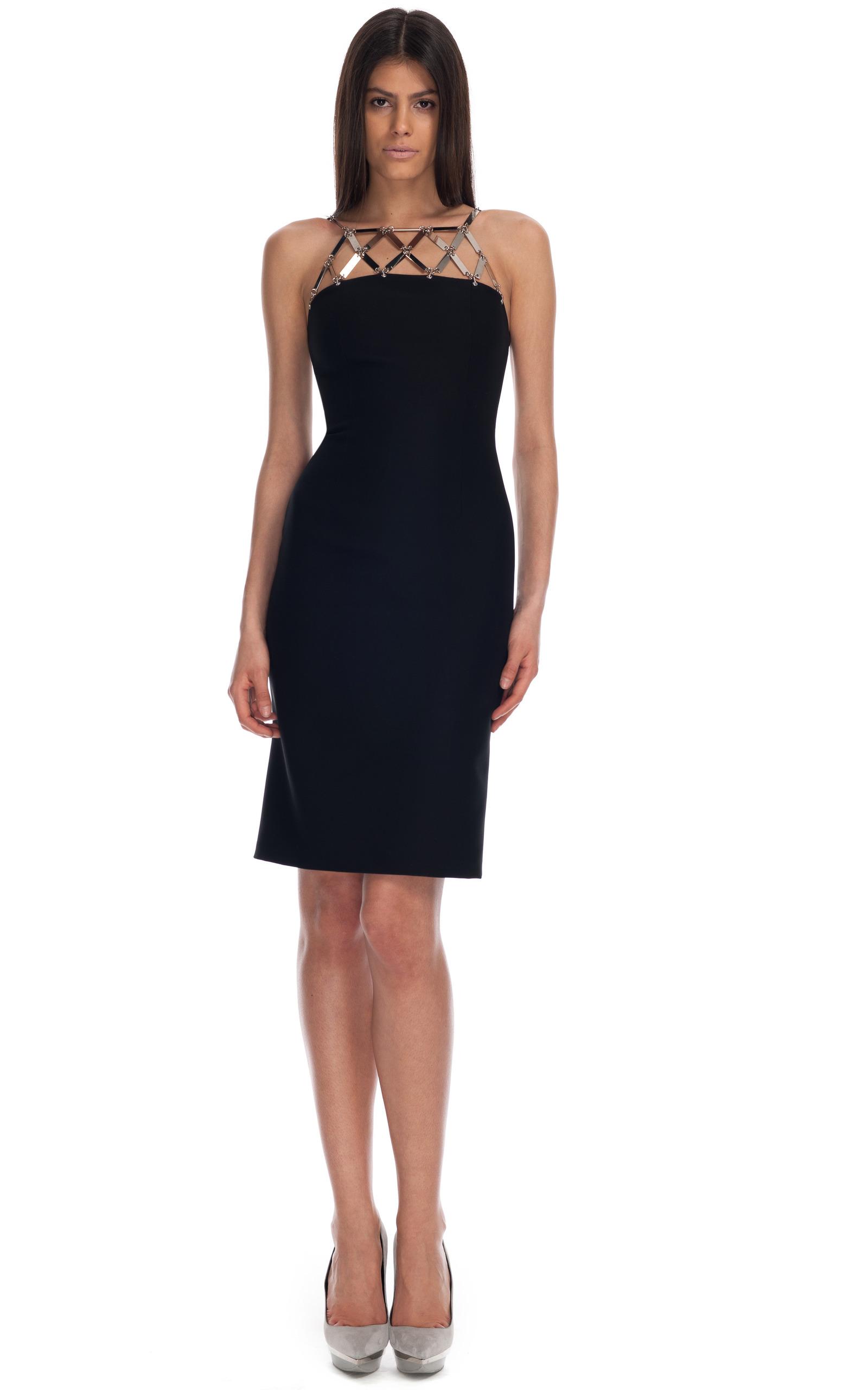 Donatella Versace Buckle Dress