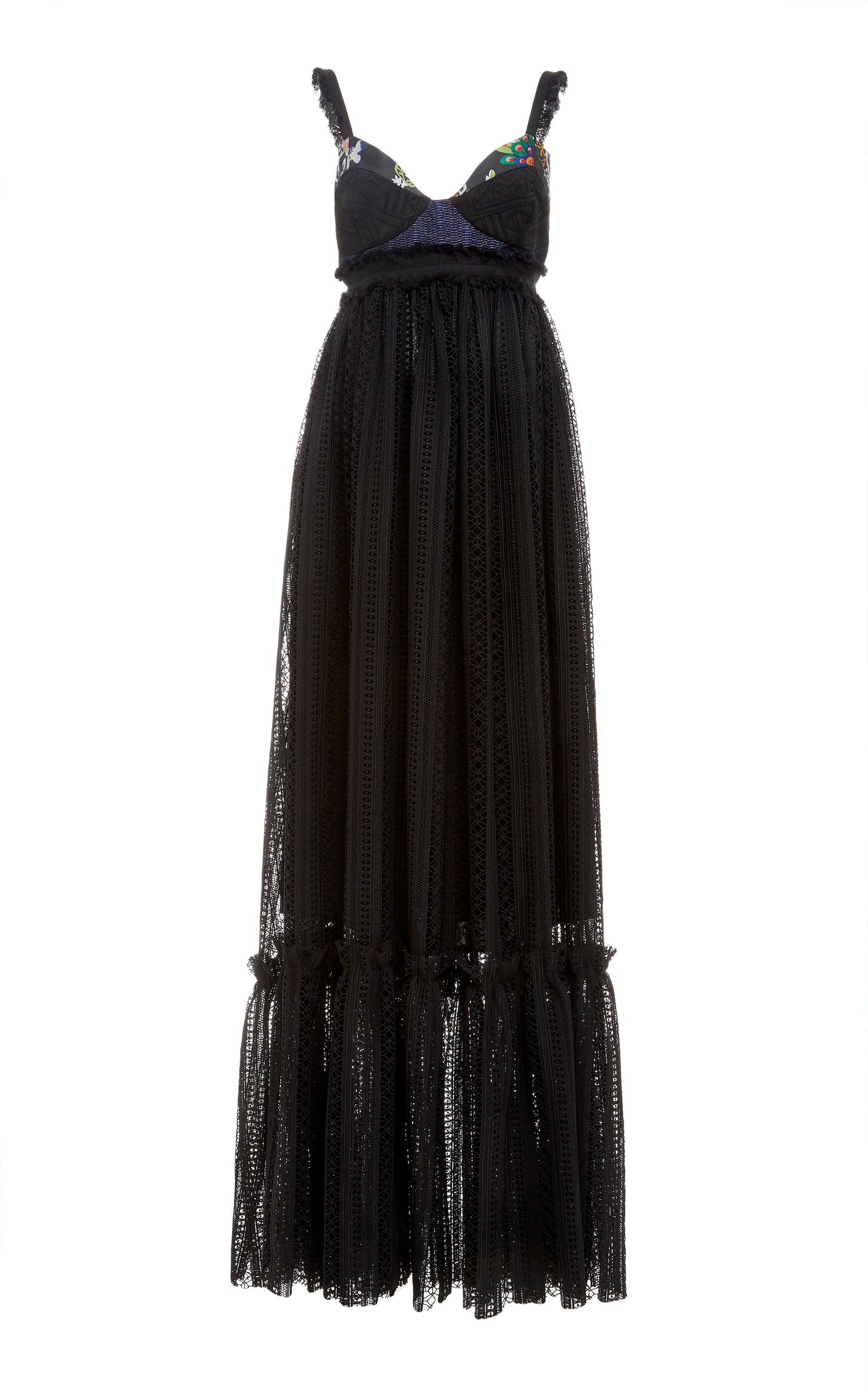 LOVE BINETTI Rebel Yell Maxi Dress in Black