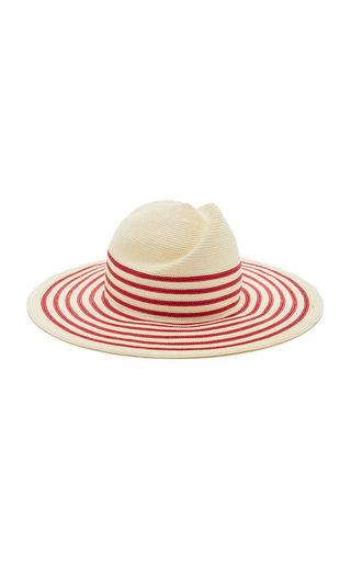 Sale Amazing Price Latest For Sale Breton Striped Straw Sunhat YESTADT MILLINERY Clearance Footlocker Pictures Cheap Sale Brand New Unisex Sneakernews TReYVTD8E