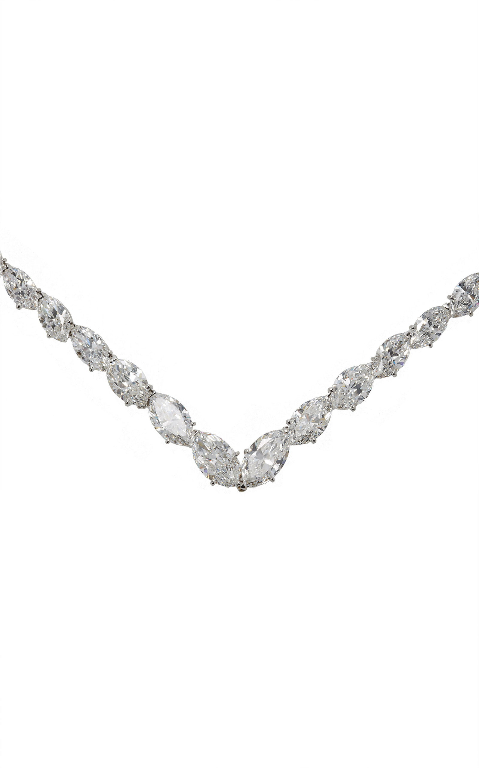 diamond marquis sets necklace set