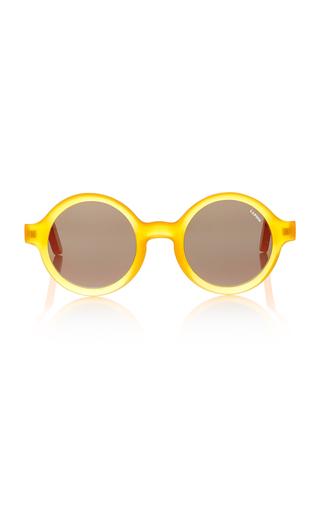 Marie Round-Frame Acetate Sunglasses Lapima d7GpI