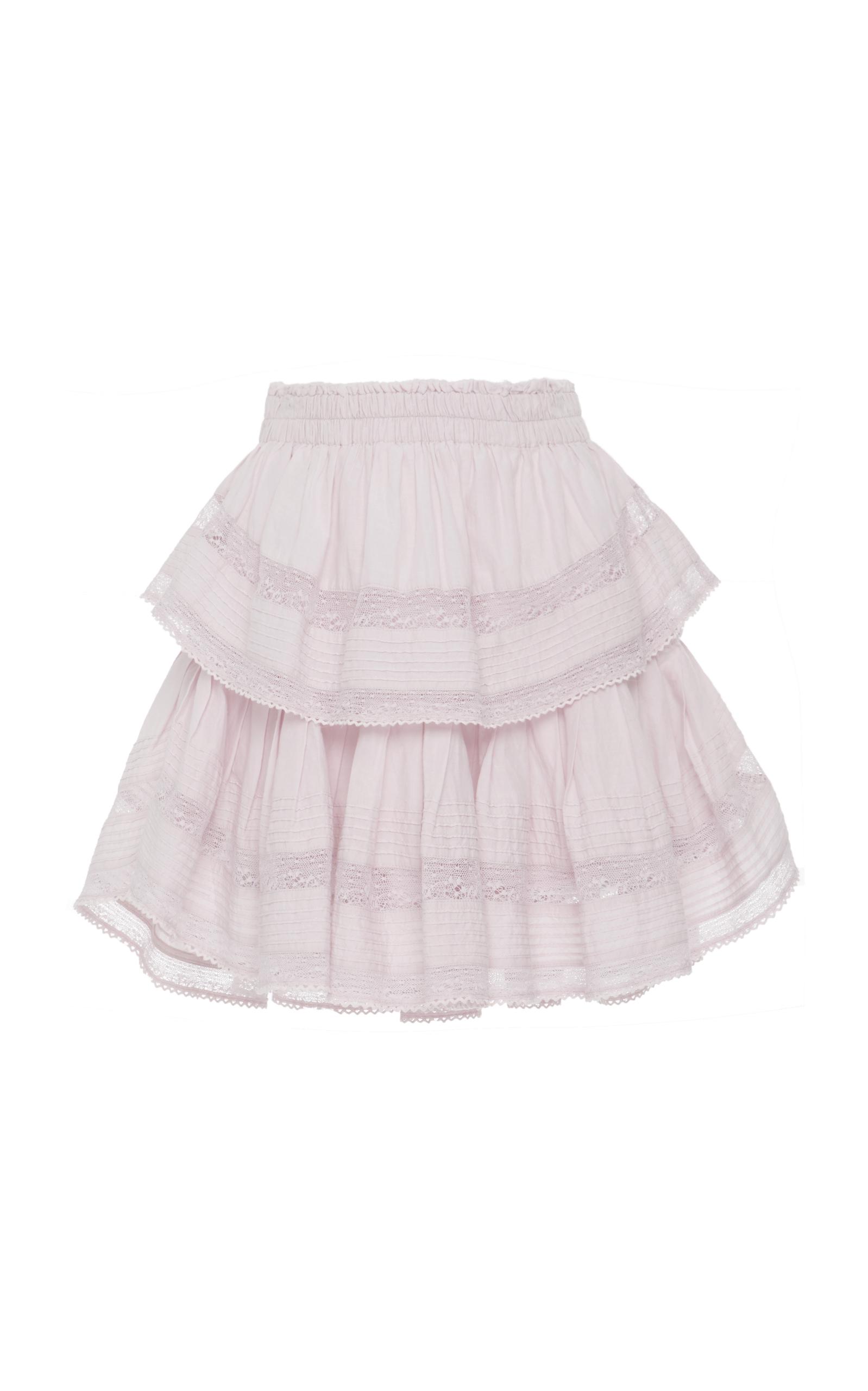500f9a77b7 Ruffle Mini Skirt by LoveShackFancy | Moda Operandi