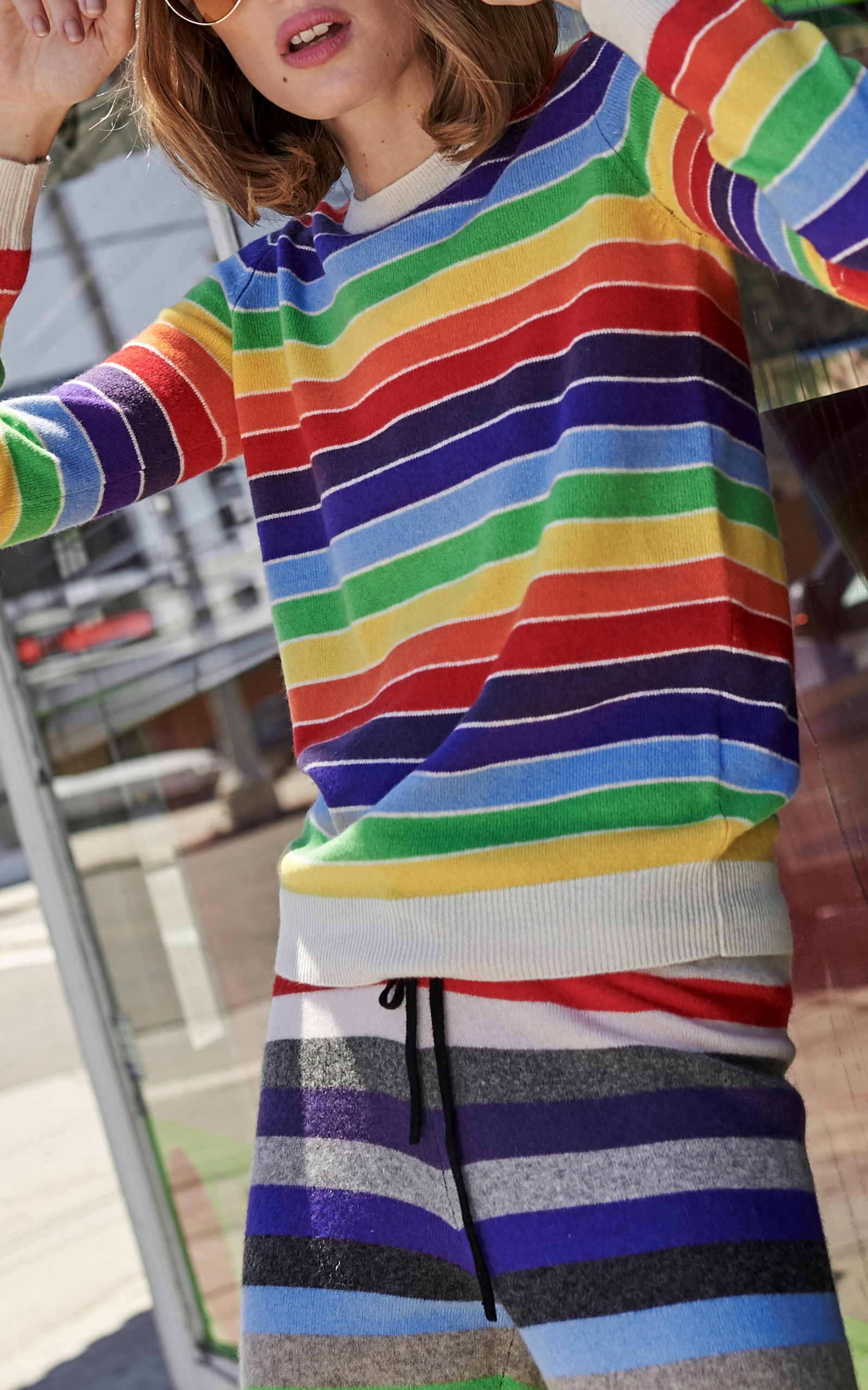 Kermit Rainbow Pullover Top