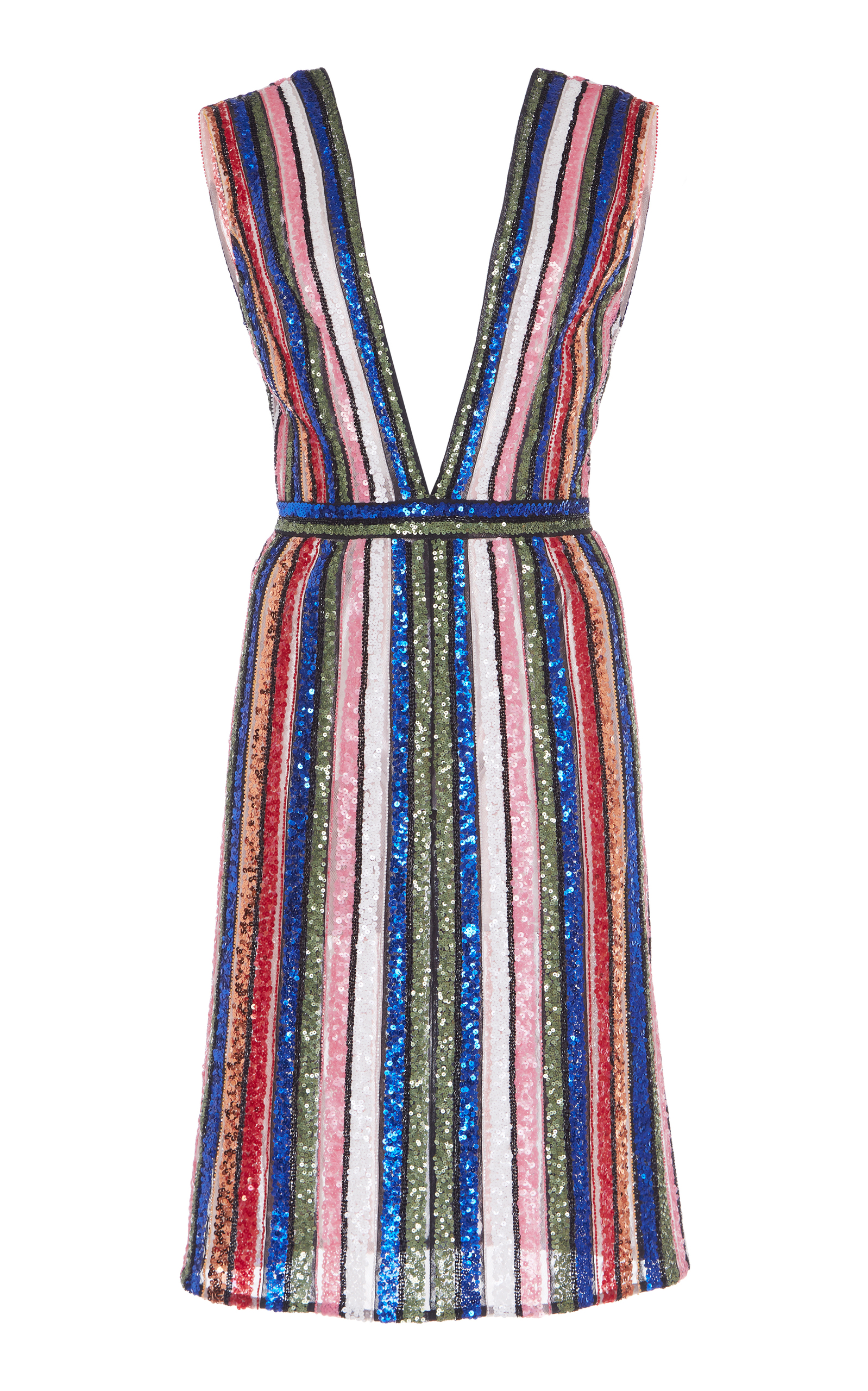 Color of striped dress