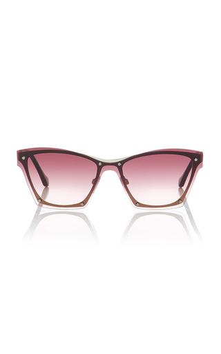 BALENCIAGA SUNGLASSES | Balenciaga Sunglasses Raw-Frame Sunglasses | Goxip