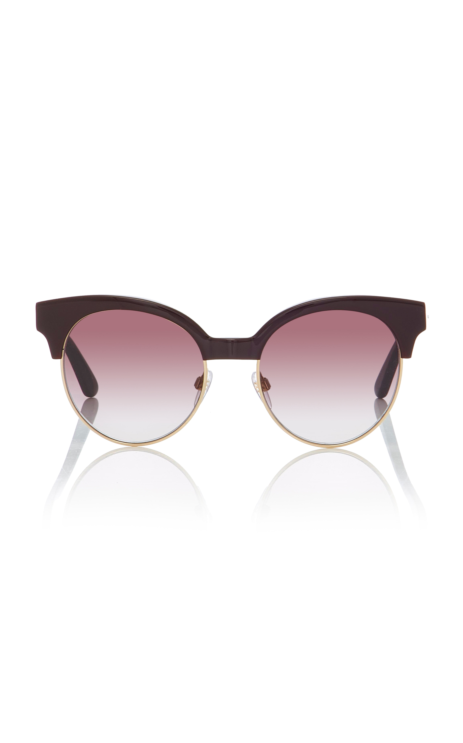 Circle-Frame Sunglasses by Balenciaga Sunglasses   Moda Operandi