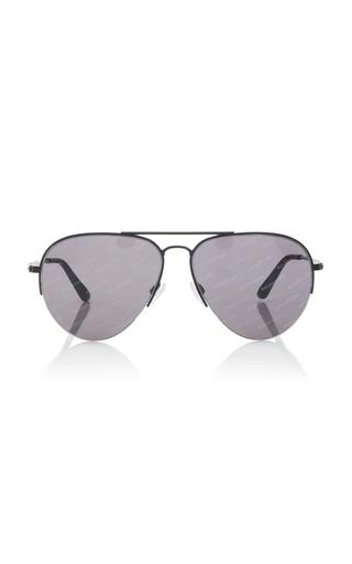 BALENCIAGA SUNGLASSES | Balenciaga Sunglasses Aviator-Style Silver-Tone Sunglasses | Goxip