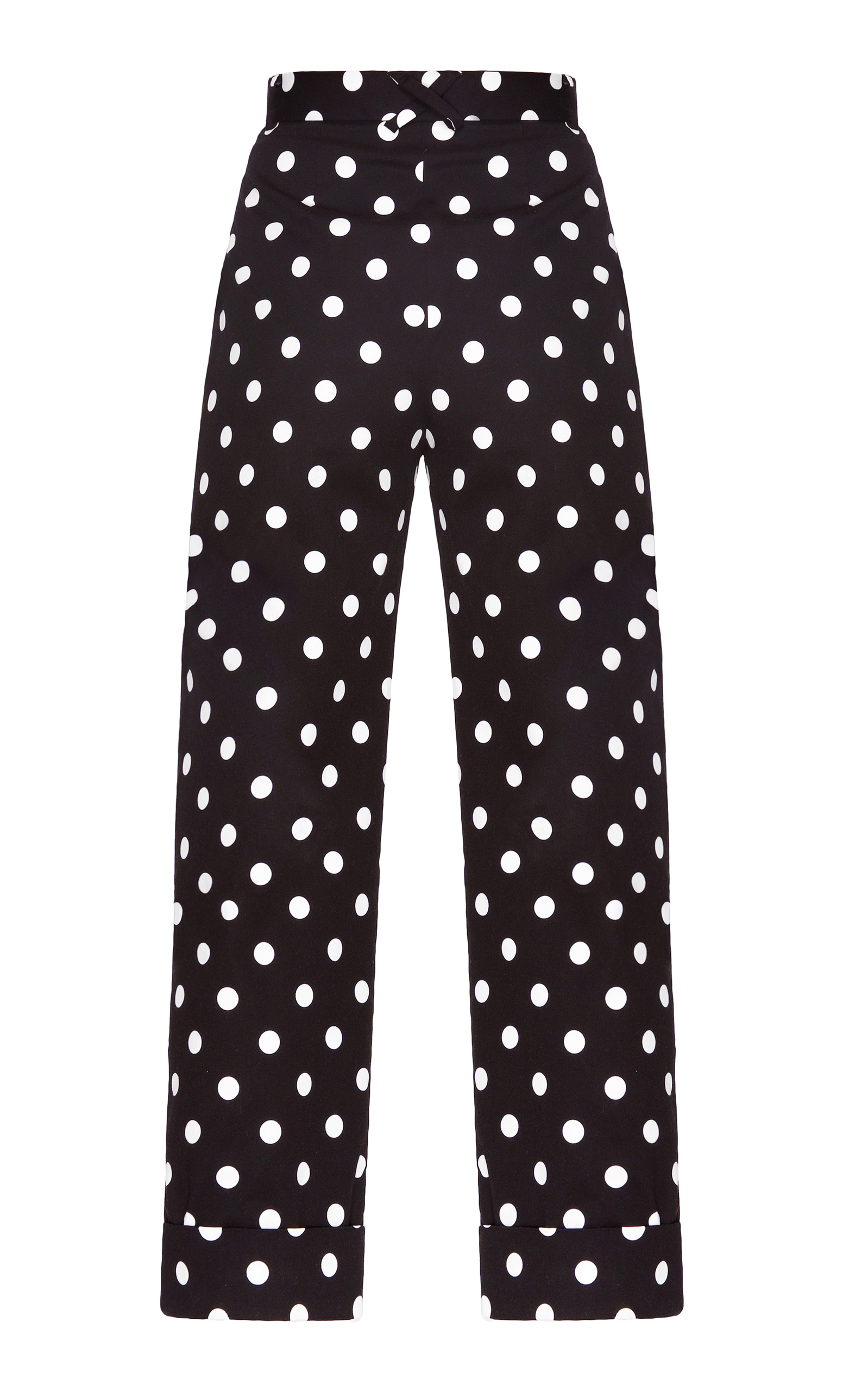 ade4e1660 High Waisted Polka Dot Pants