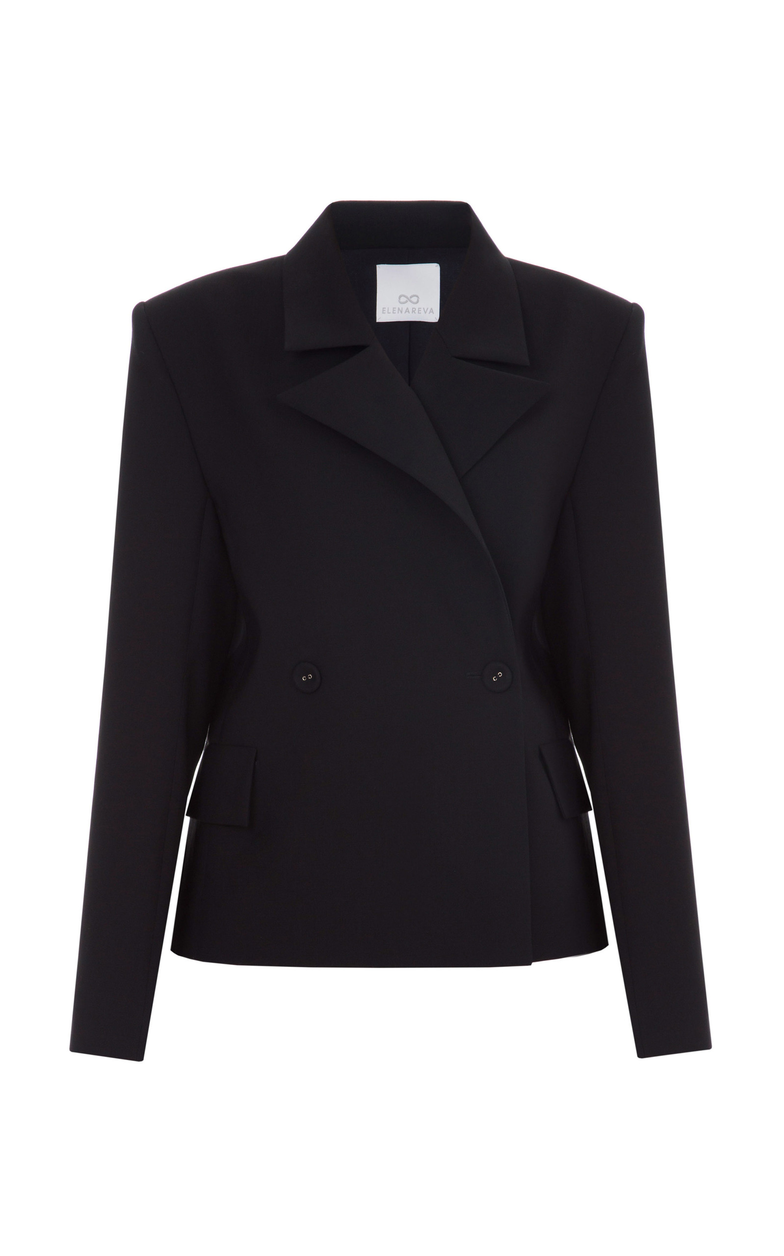Short Tailored Jacket by ELENAREVA | Moda Operandi