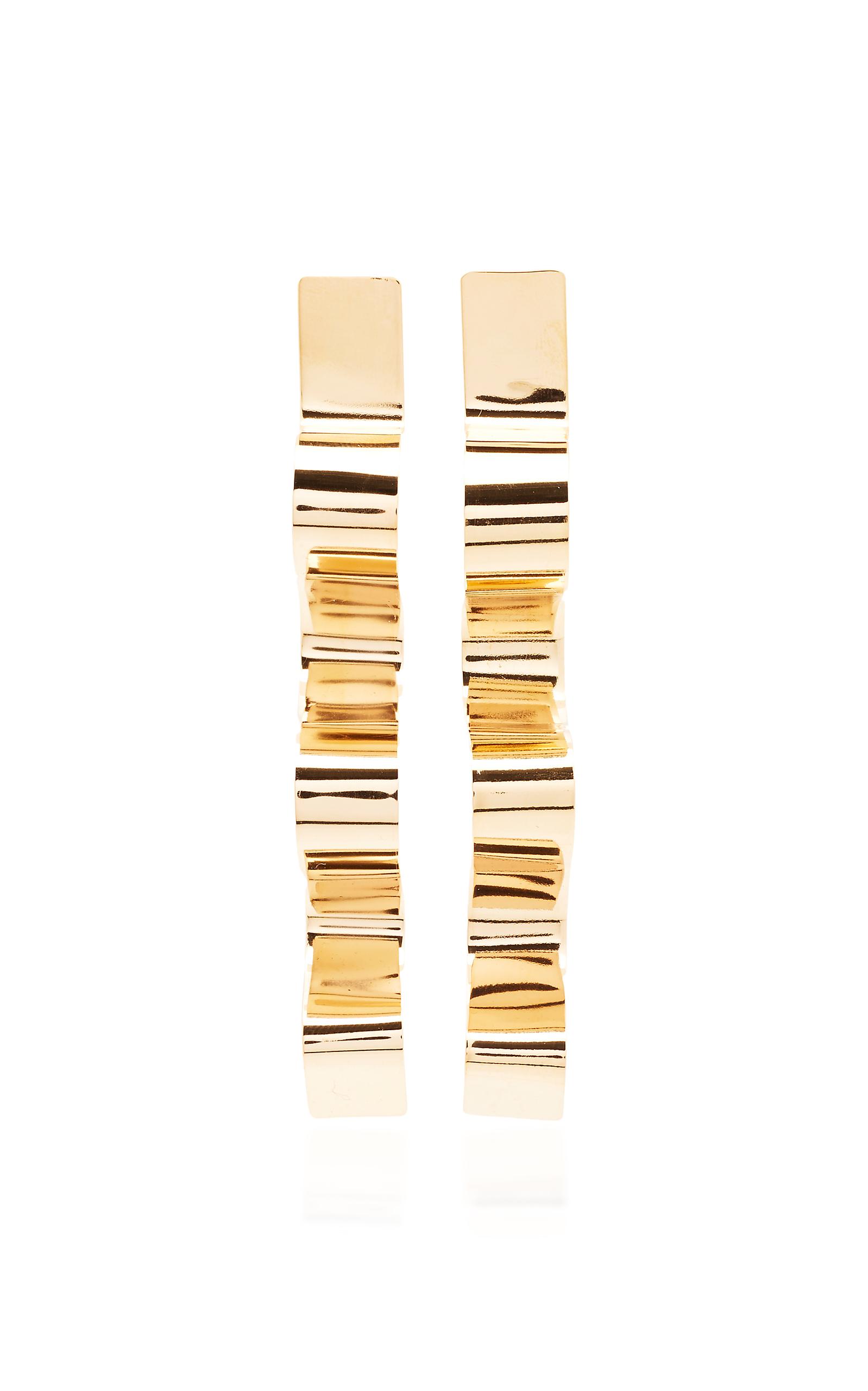 BIA DAIDONE SOFIA 24K GOLD-PLATED EARRINGS