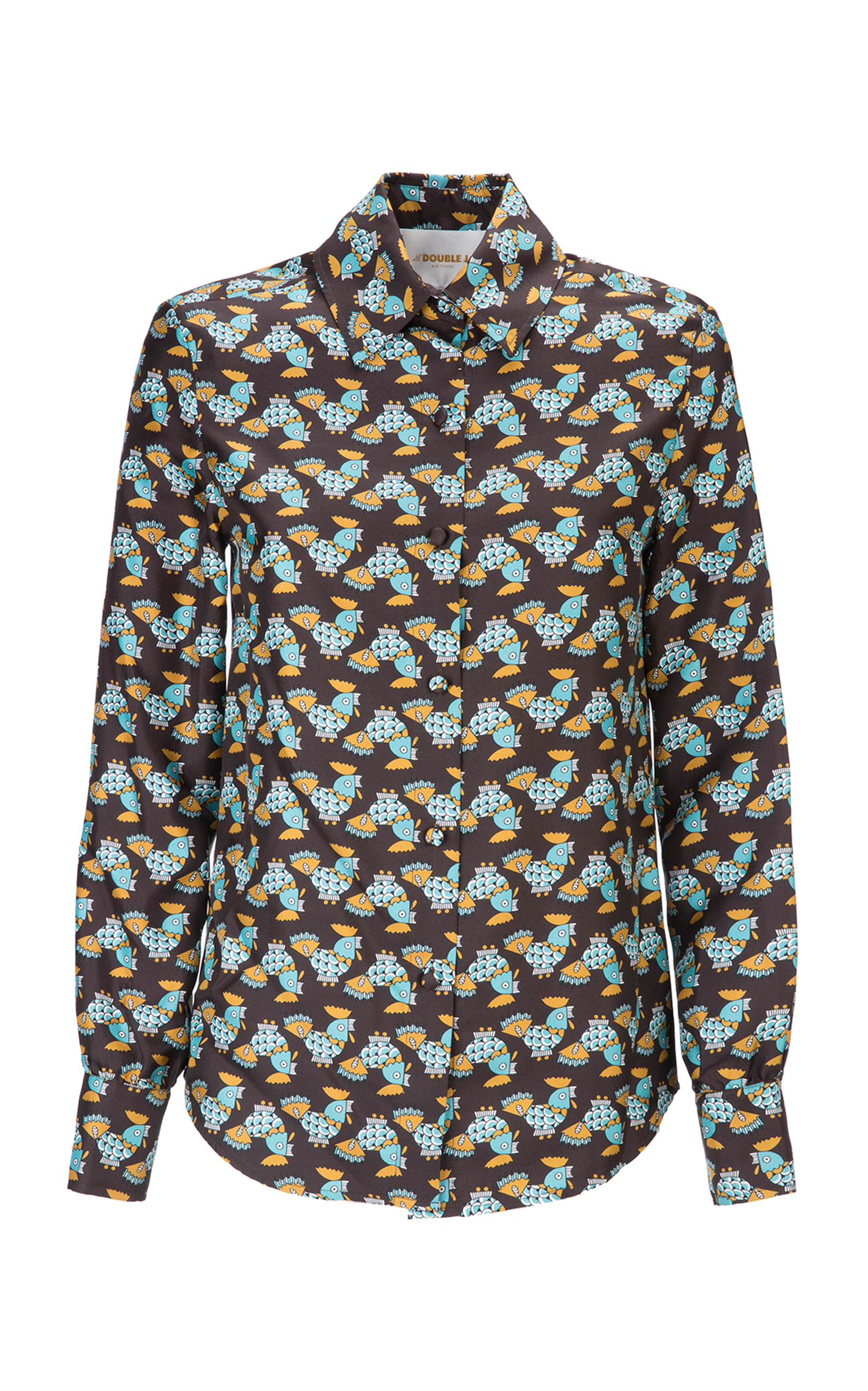 Boy Silk Print Shirt By La Doublej Moda Operandi