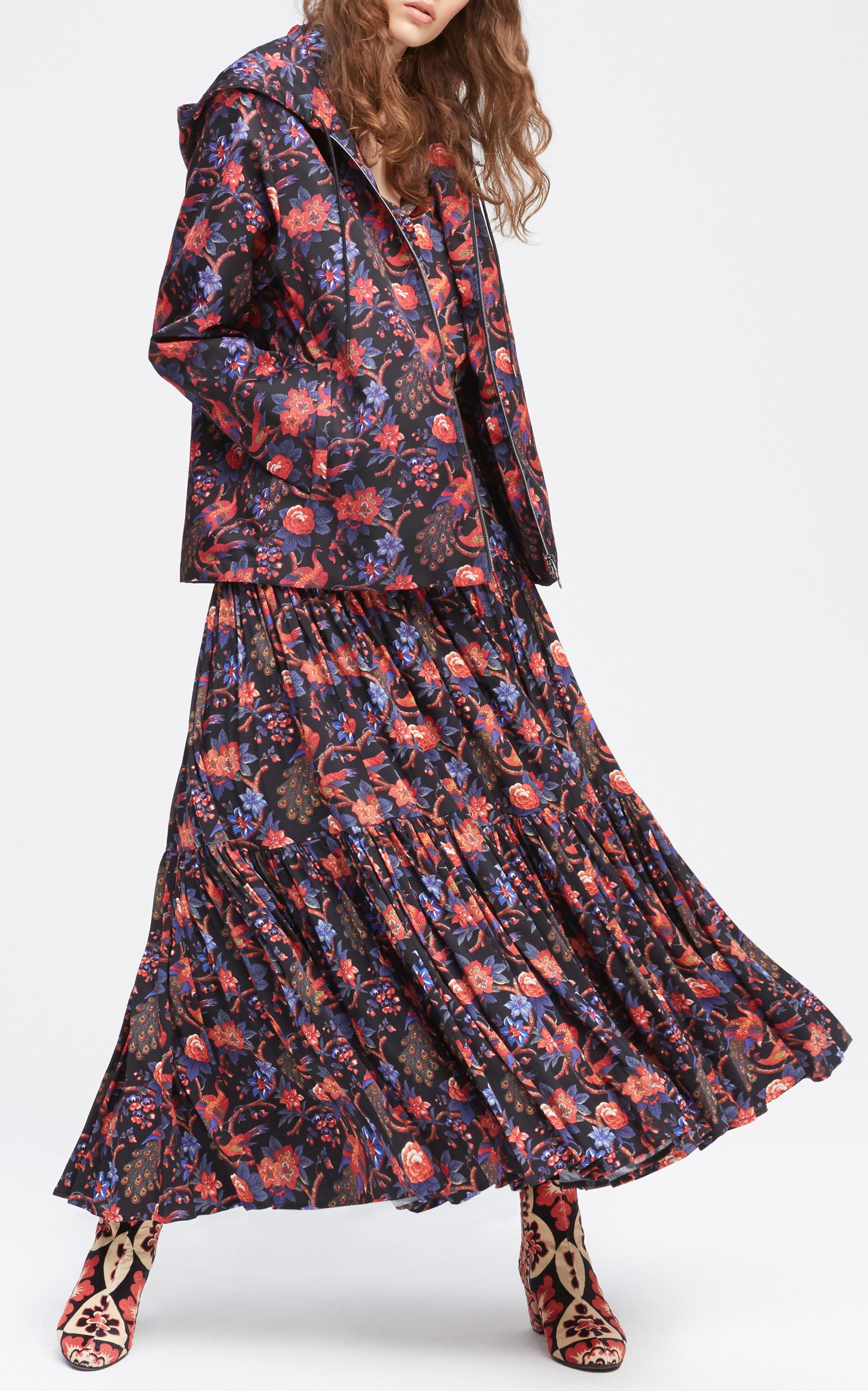 Printed Doublej Hood Jacket Windy La rxnzr4