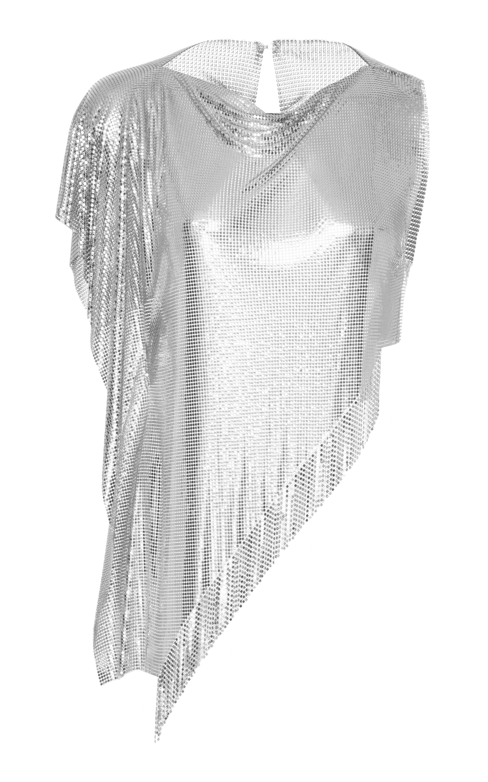 Free Shipping Sneakernews Asymmetric Fringe Mesh Top Fannie Schiavoni Cheap Visa Payment Clearance Pictures Sale Nicekicks View Online QmehggQ