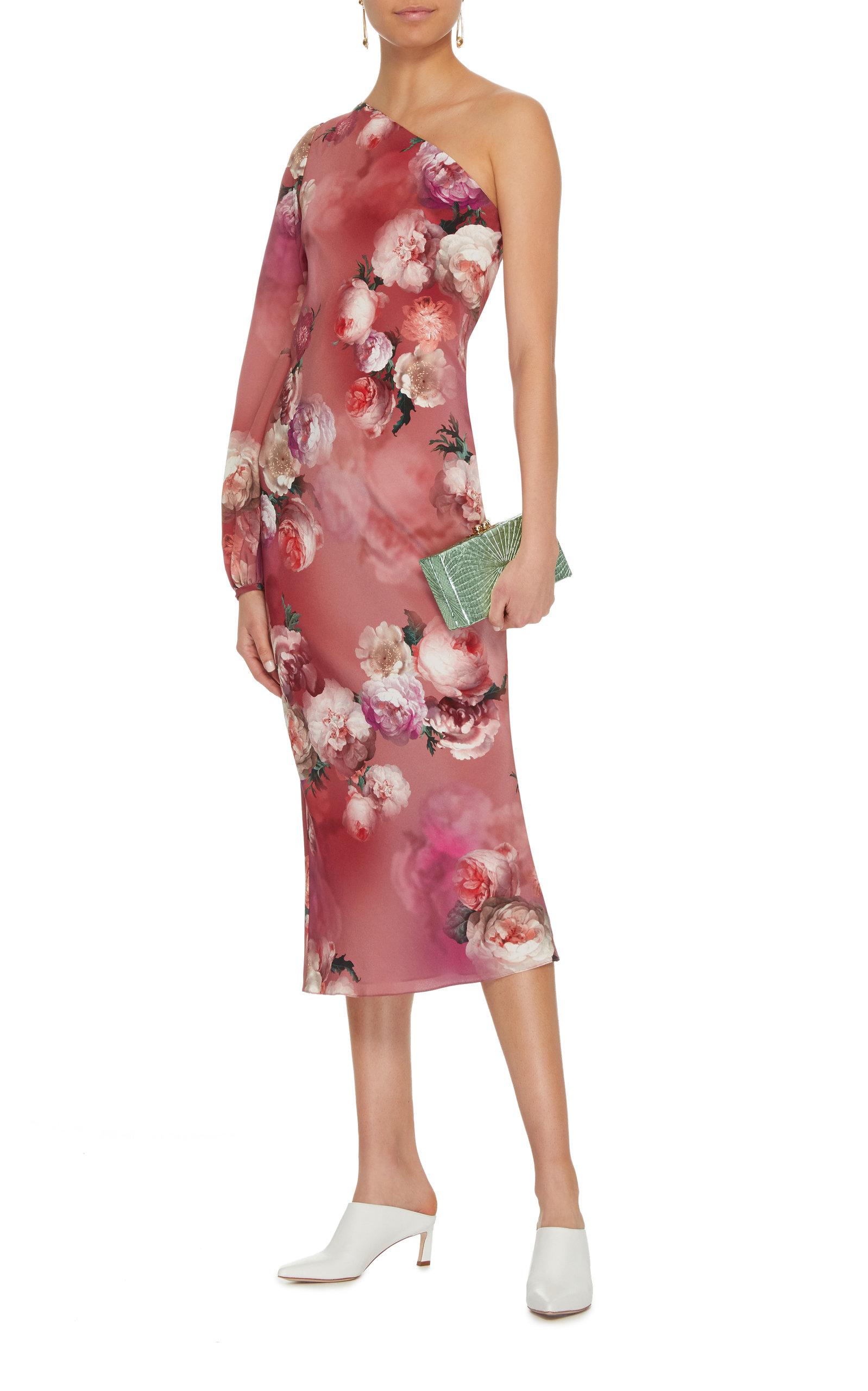 Zinnia One Shoulder Dress Markarian m6Op4lb5f
