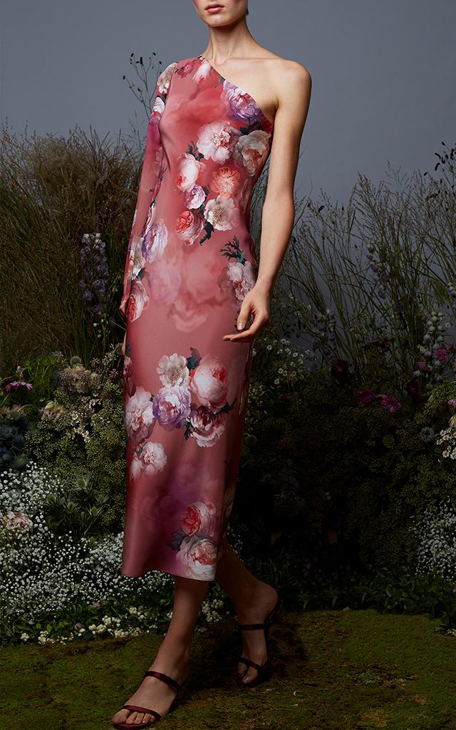 Zinnia One Shoulder Dress Markarian 6VzAimew