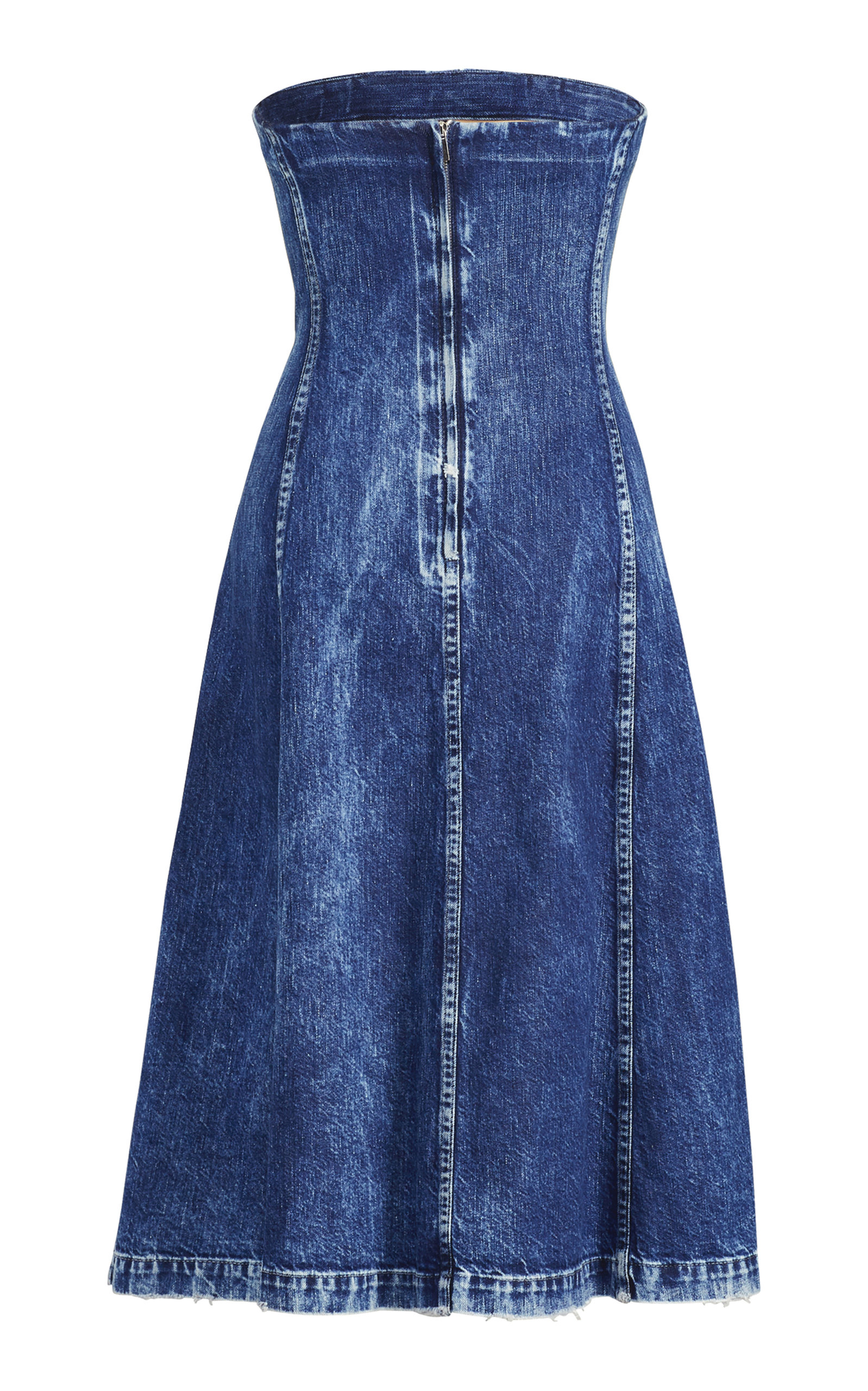 3b684fd179f Ralph LaurenEsmee Denim Strapless Dress. CLOSE. Loading. Loading