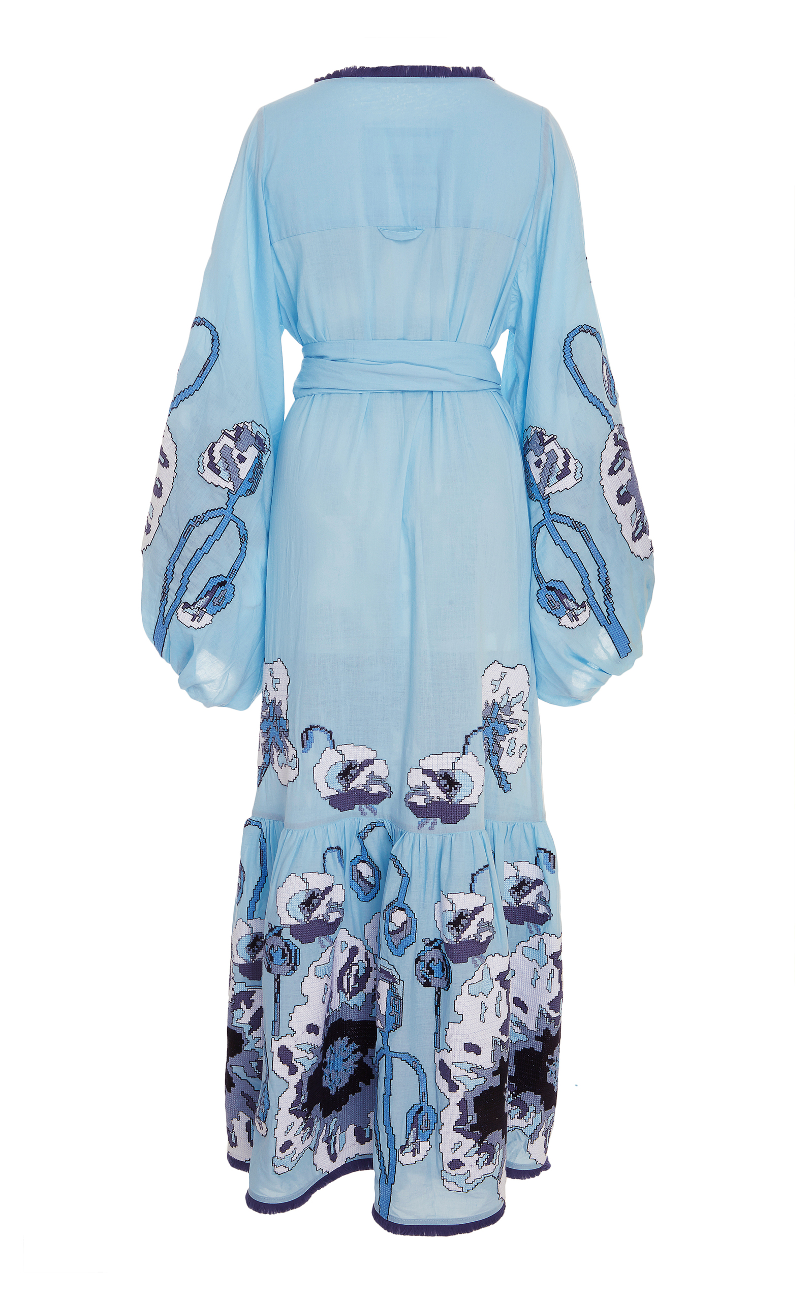 Poppies Embroidered Maxi Dress Yuliya Magdych Gc3FqqWJ