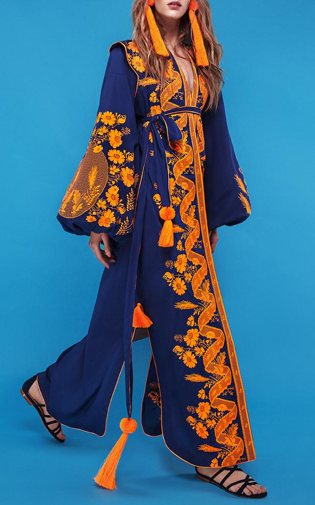Yuliya Magdych Lace Maxi Caftan $1,235 ($617.50 Deposit)