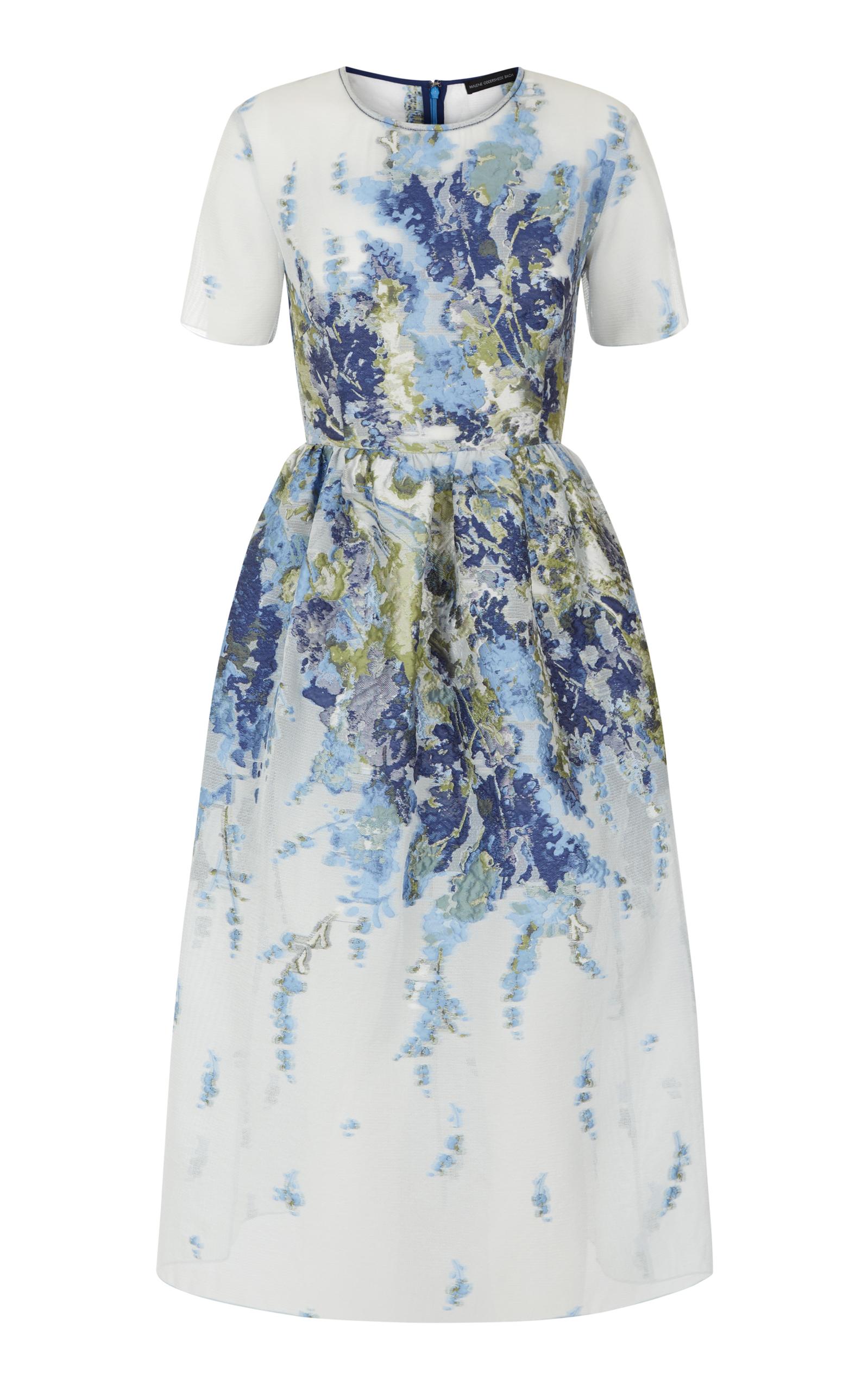 96294f5aa029 Haze Floral Midi Dress by Malene Oddershede Bach   Moda Operandi