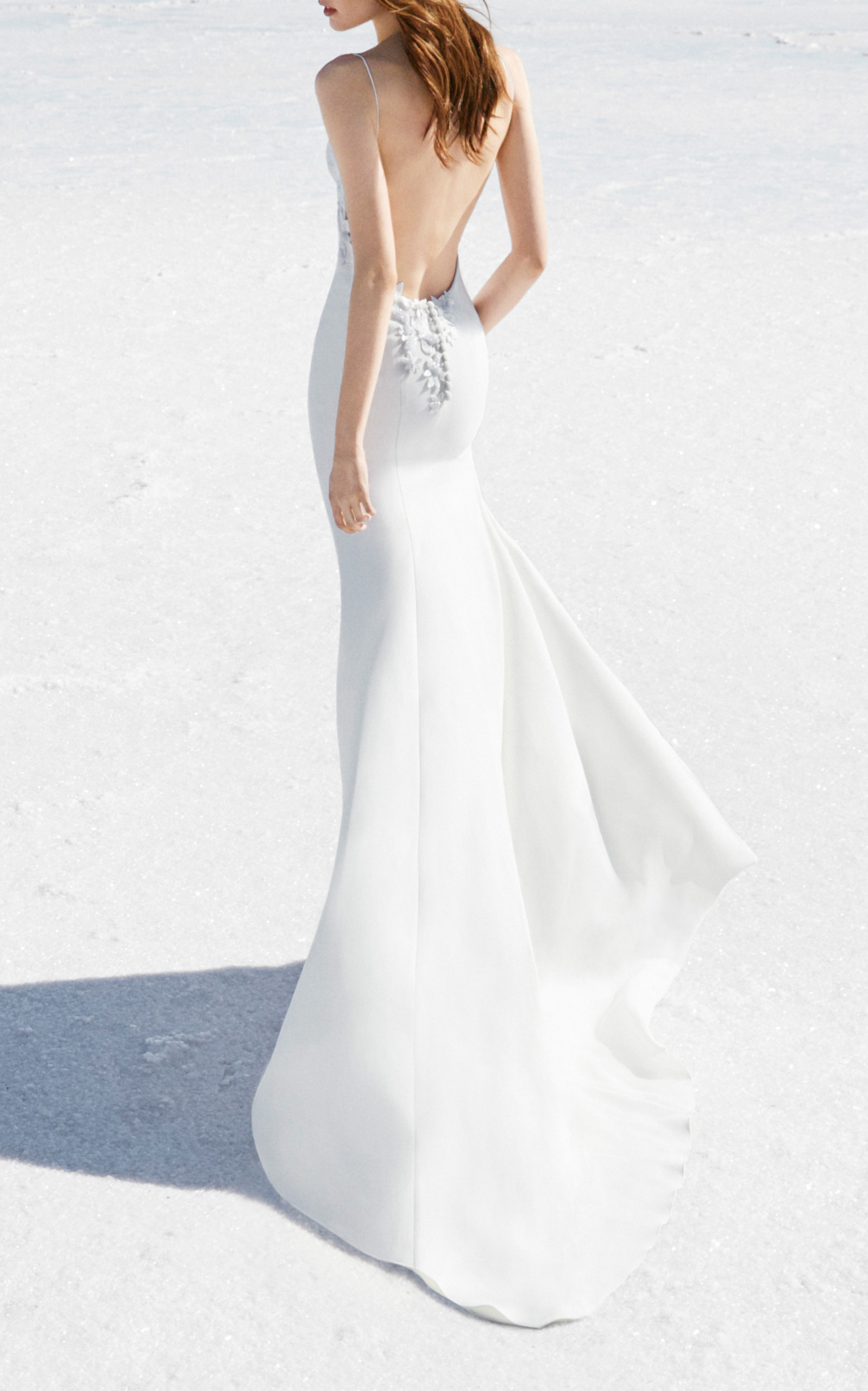 alex perry bride sophia bikini embellished gown in white modesens. Black Bedroom Furniture Sets. Home Design Ideas