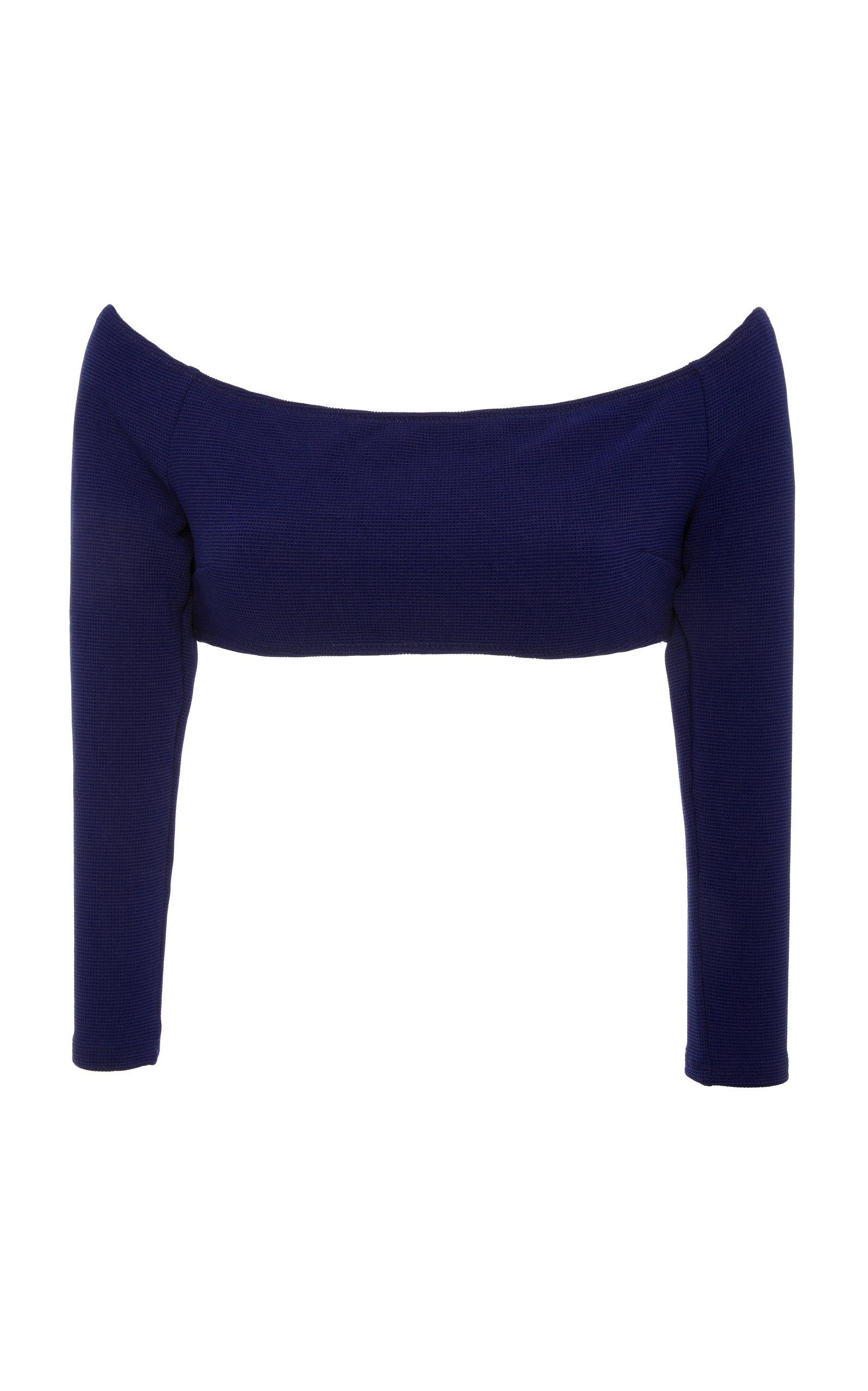 Elise Long Sleeve Bikini Top Solid & Striped Shop For Sale Online V7slSjgRRF