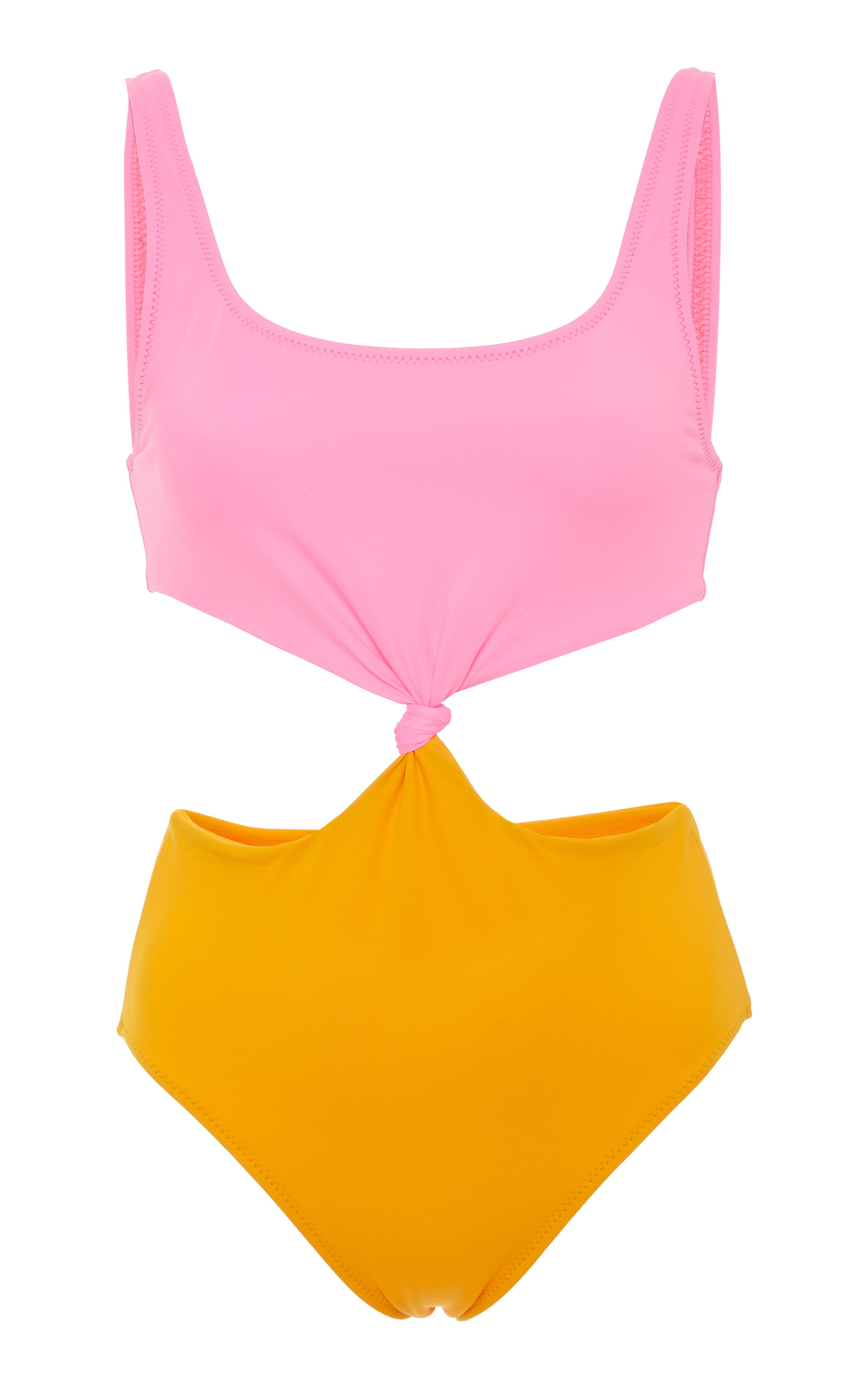 Bailey Knotted Color-Block One Piece Solid & Striped Discount Browse Cheap Shopping Online LJYMBnl