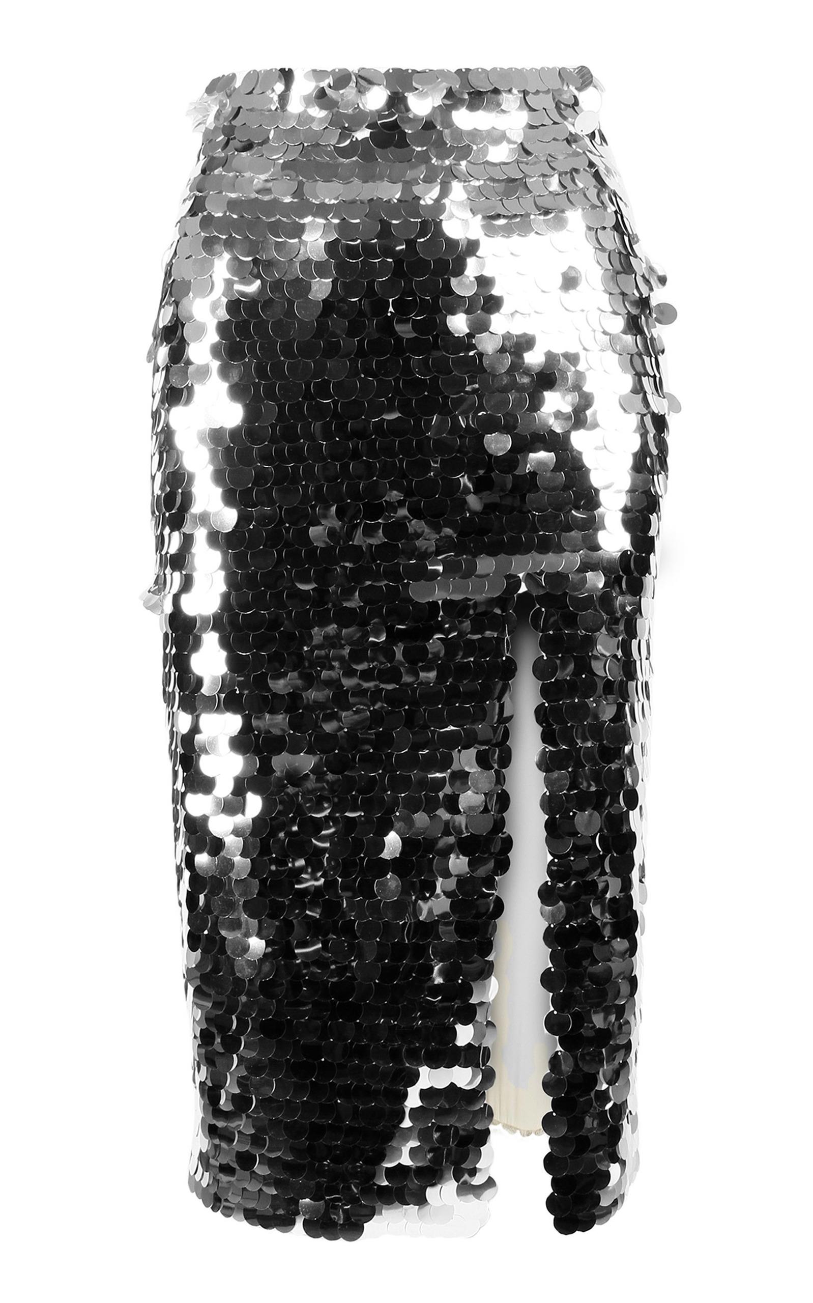 a230cbcbb8ec Sparkly Sequin Pencil Skirt by Anouki | Moda Operandi