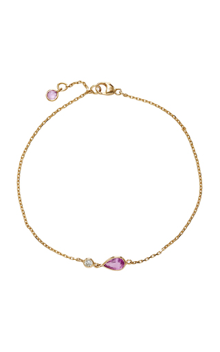 18K Gold Sapphire Bracelet Yi Collection IEvUw9OXoe