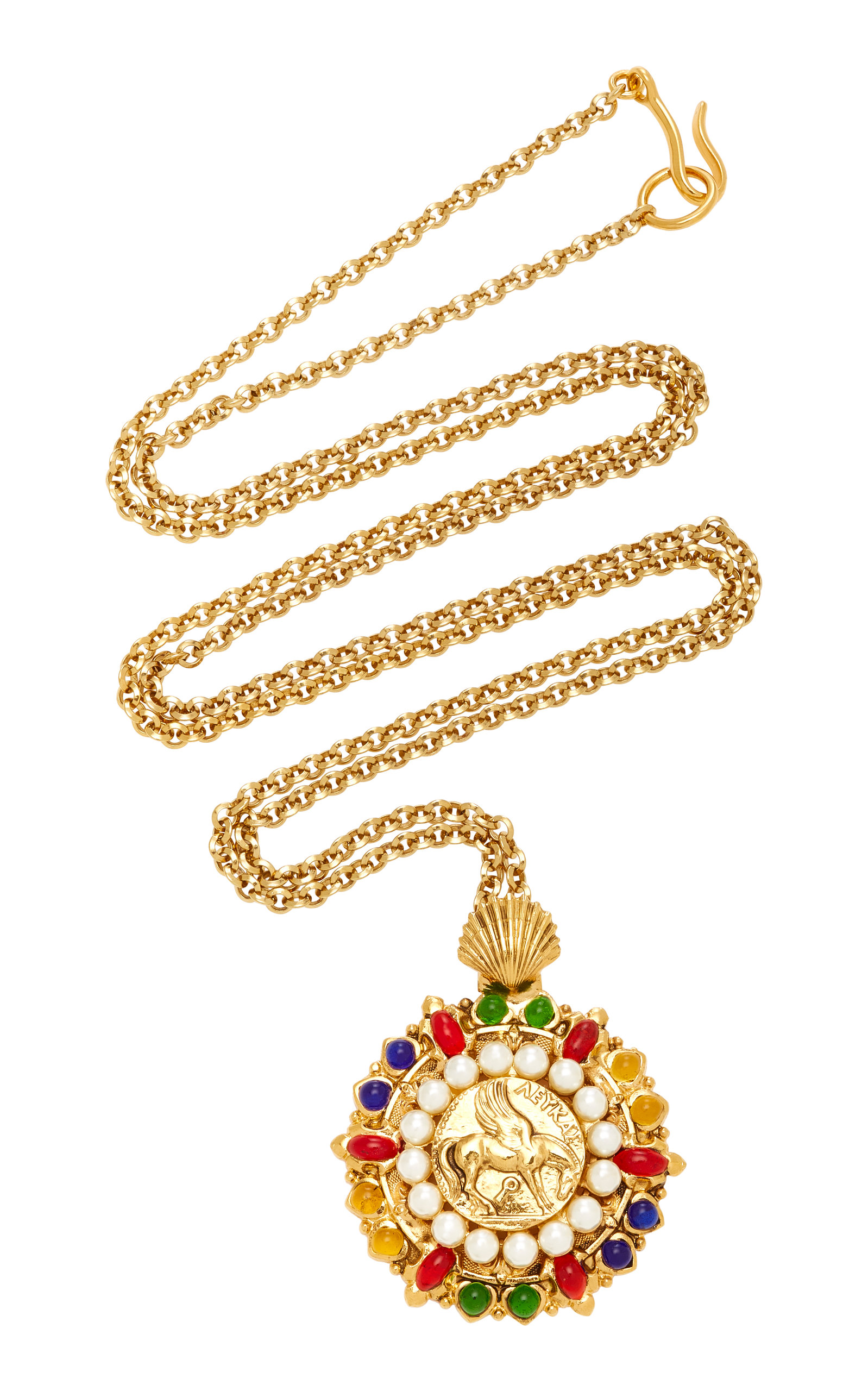 pendant necklace gold flower jewelry hong kong pin