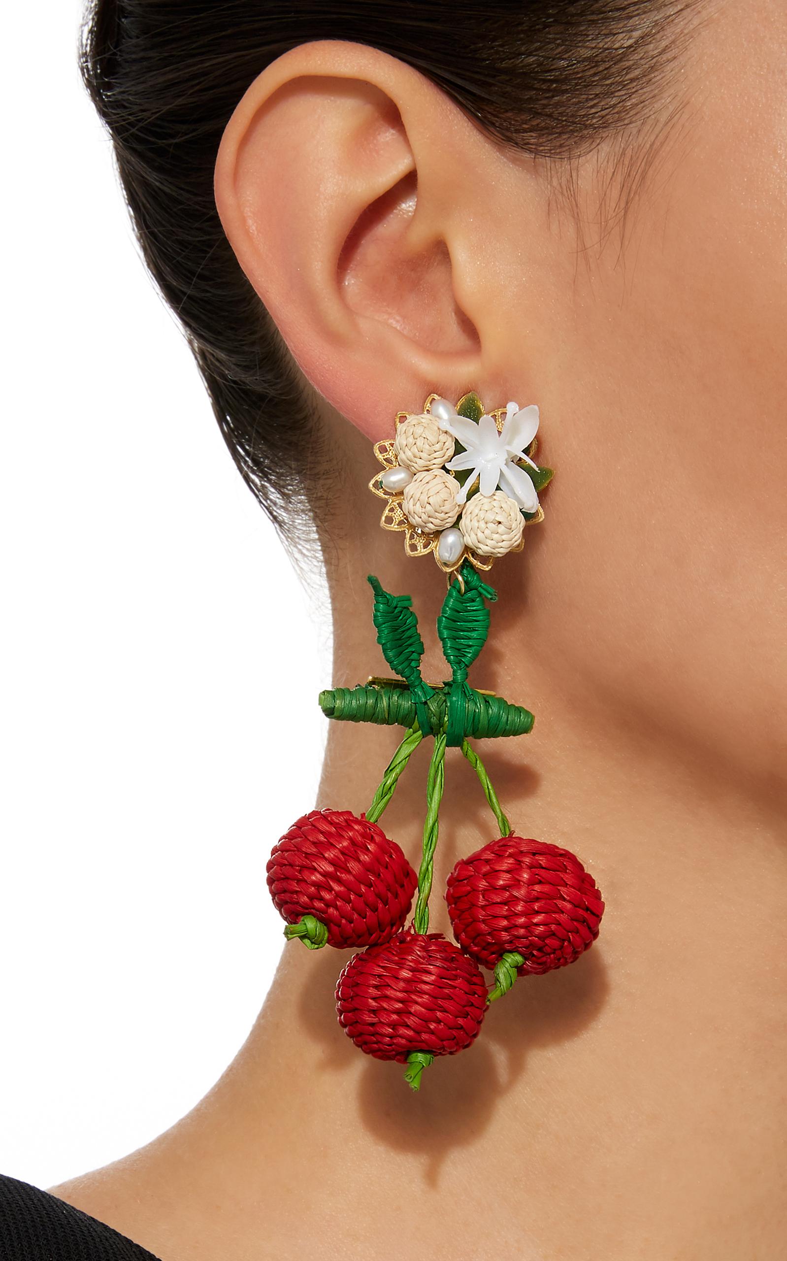 Cereza Silvestre Earrings Mercedes Salazar W5DS4