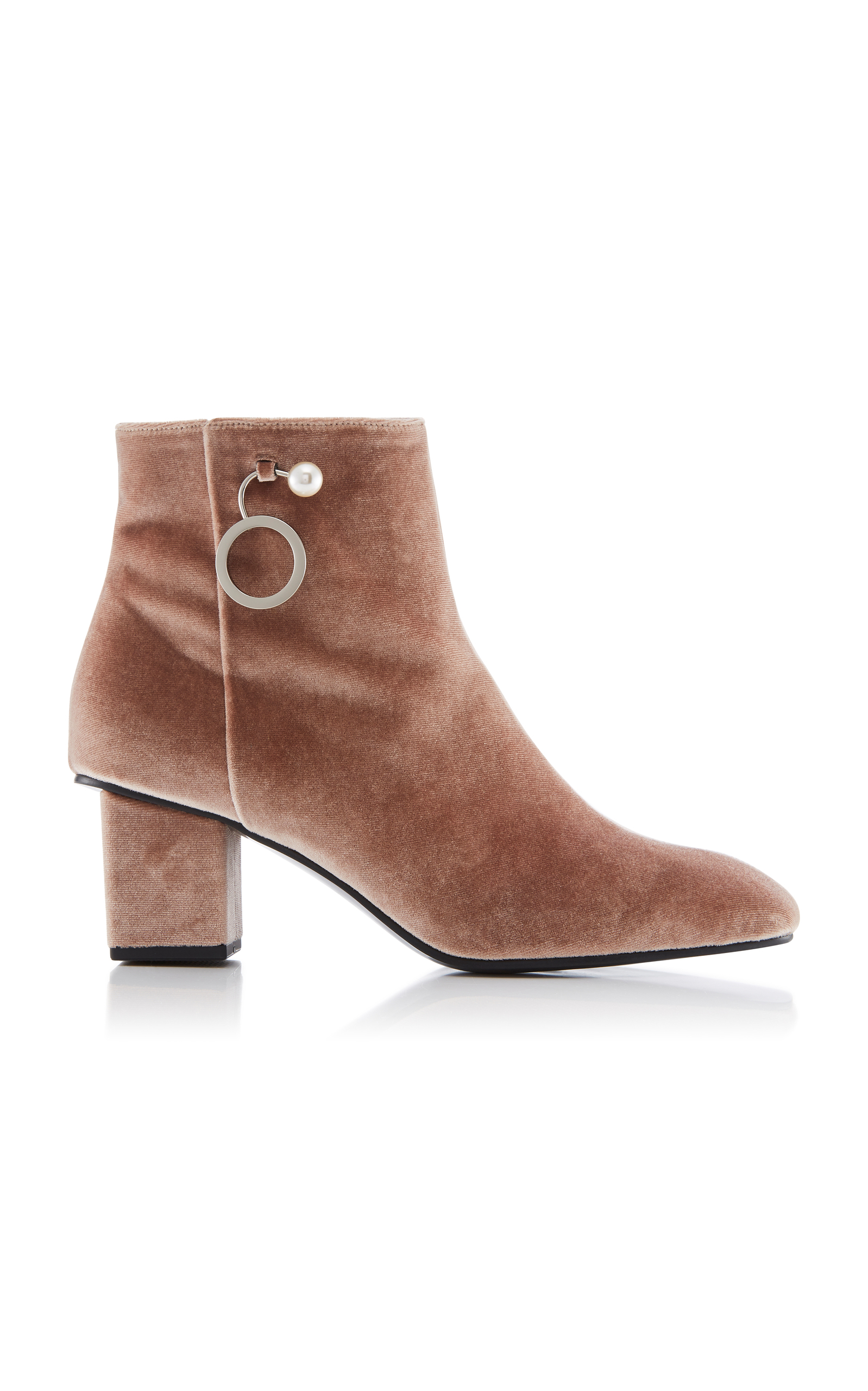 YUUL YIE M'O Exclusive Velvet Ankle Boots QA7mlvL