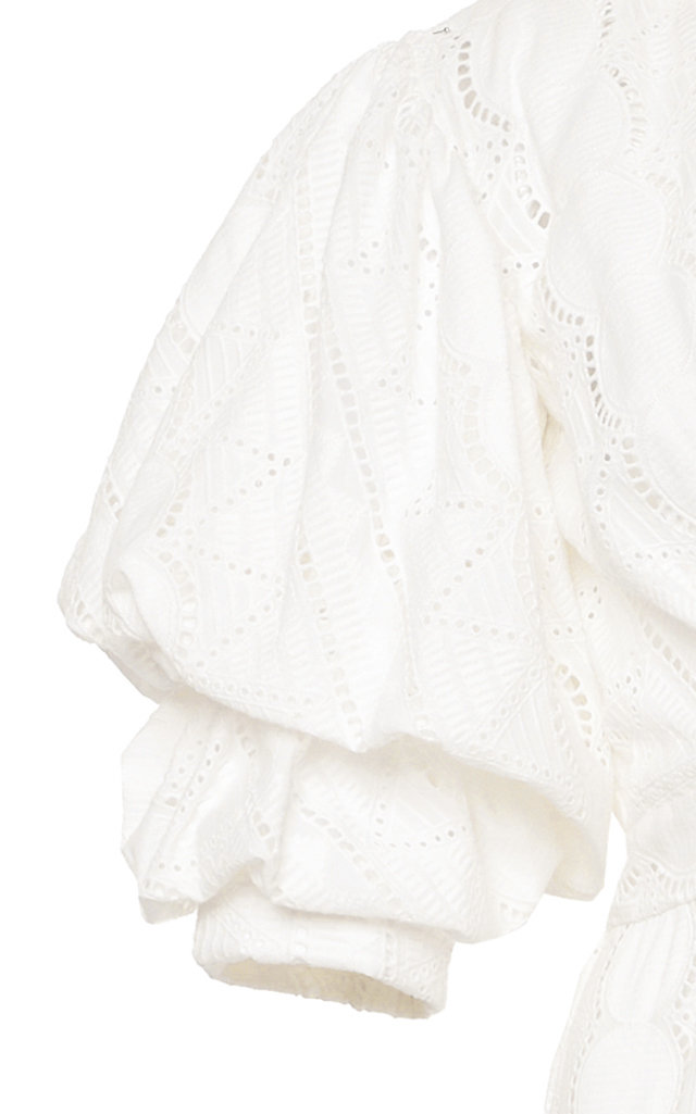 MO Exclusive Mademoiselle Sophie Cotton Eyelet Dress Johanna Ortiz