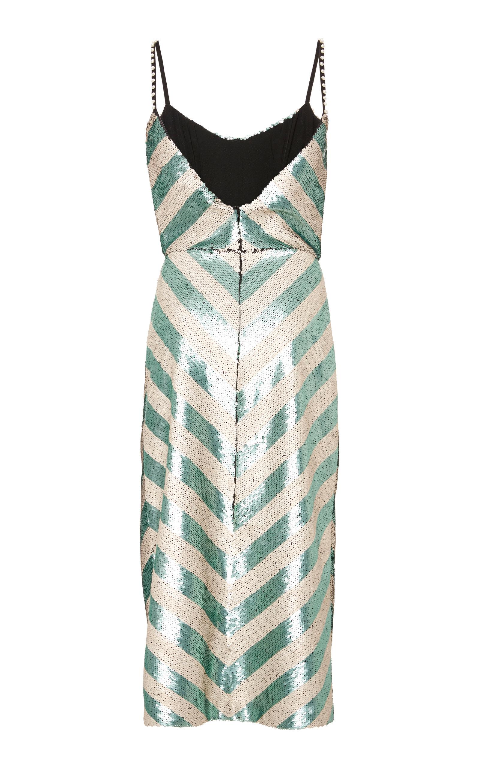 MO Exclusive Salon De Paris Sequin Dress Johanna Ortiz Cheap Manchester Online For Sale PPLAQ