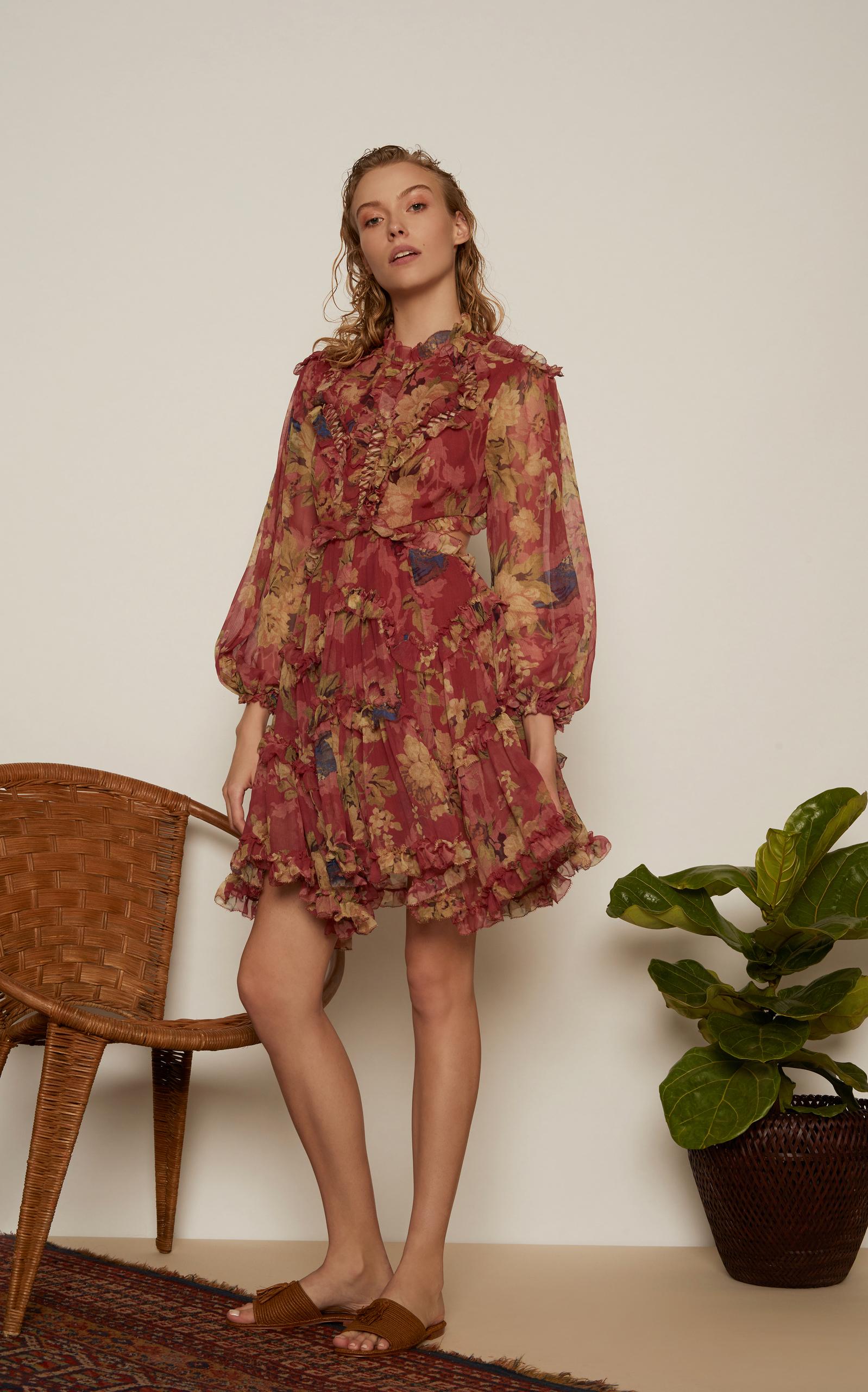 d1e91d6443220 Melody Lace Up Mini Dress by Zimmermann | Moda Operandi