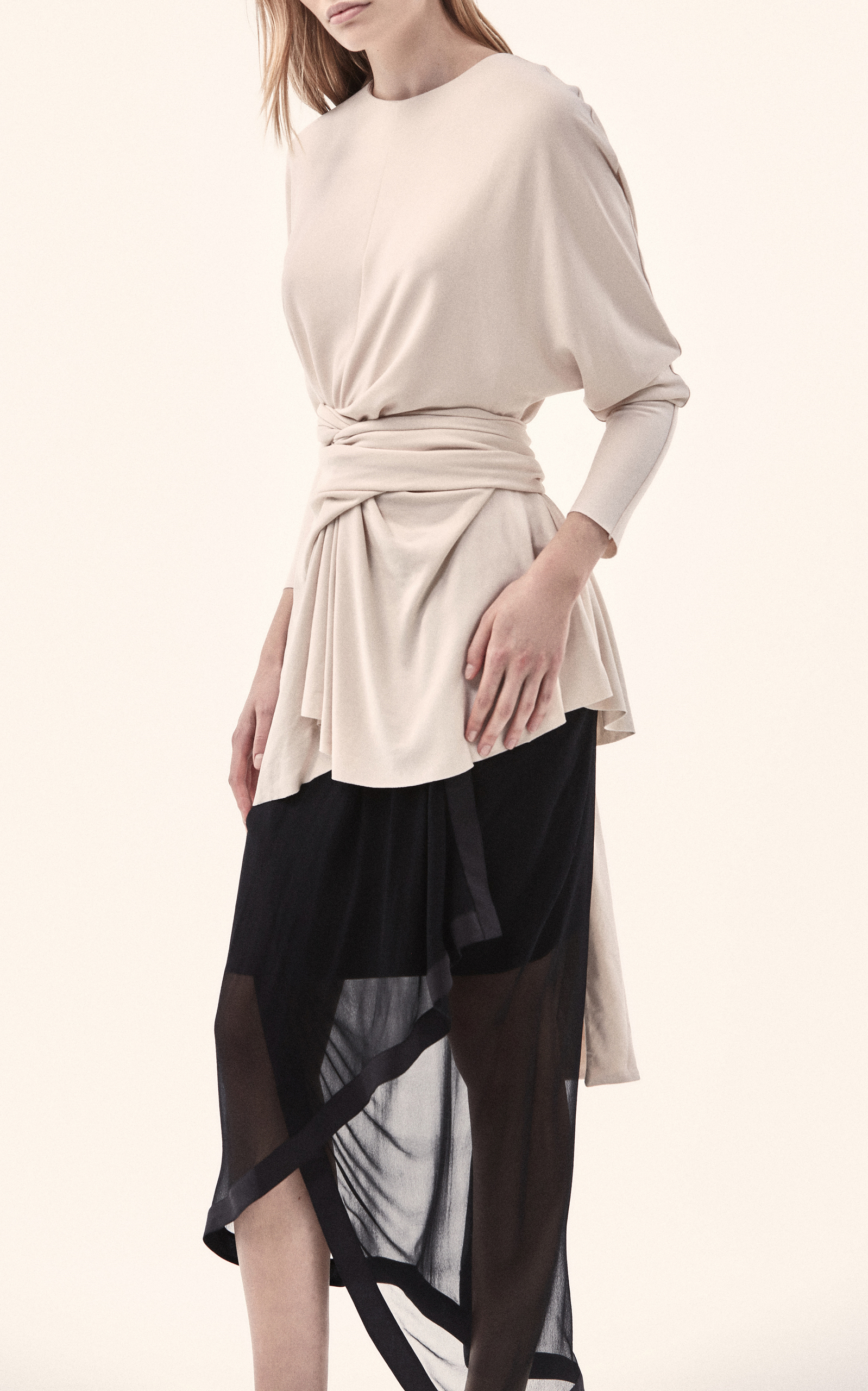 Acler CYPRUS BELTED MODAL TOP