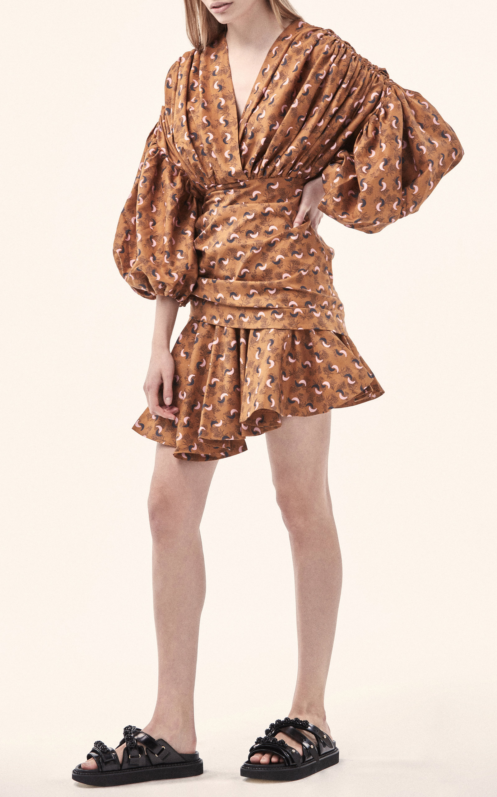 Dorset Long Sleeve Mini Dress Acler Discount Pictures Free Shipping 2018 5y0UjaVc