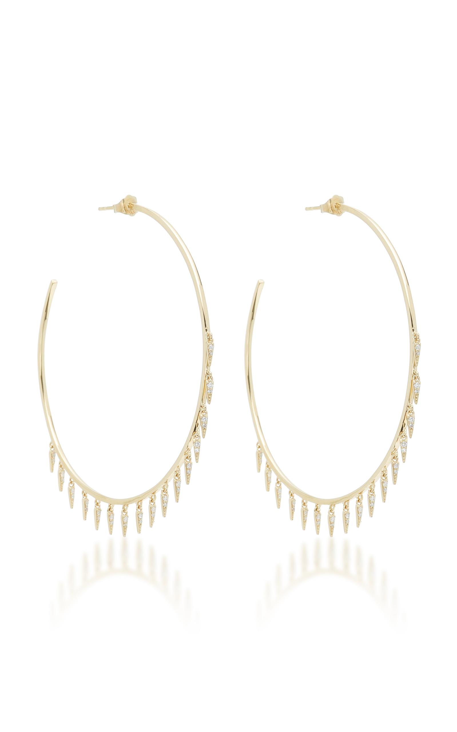 Sydney Evan Medium Fringe Drop Earrings giqYSKy6Xp