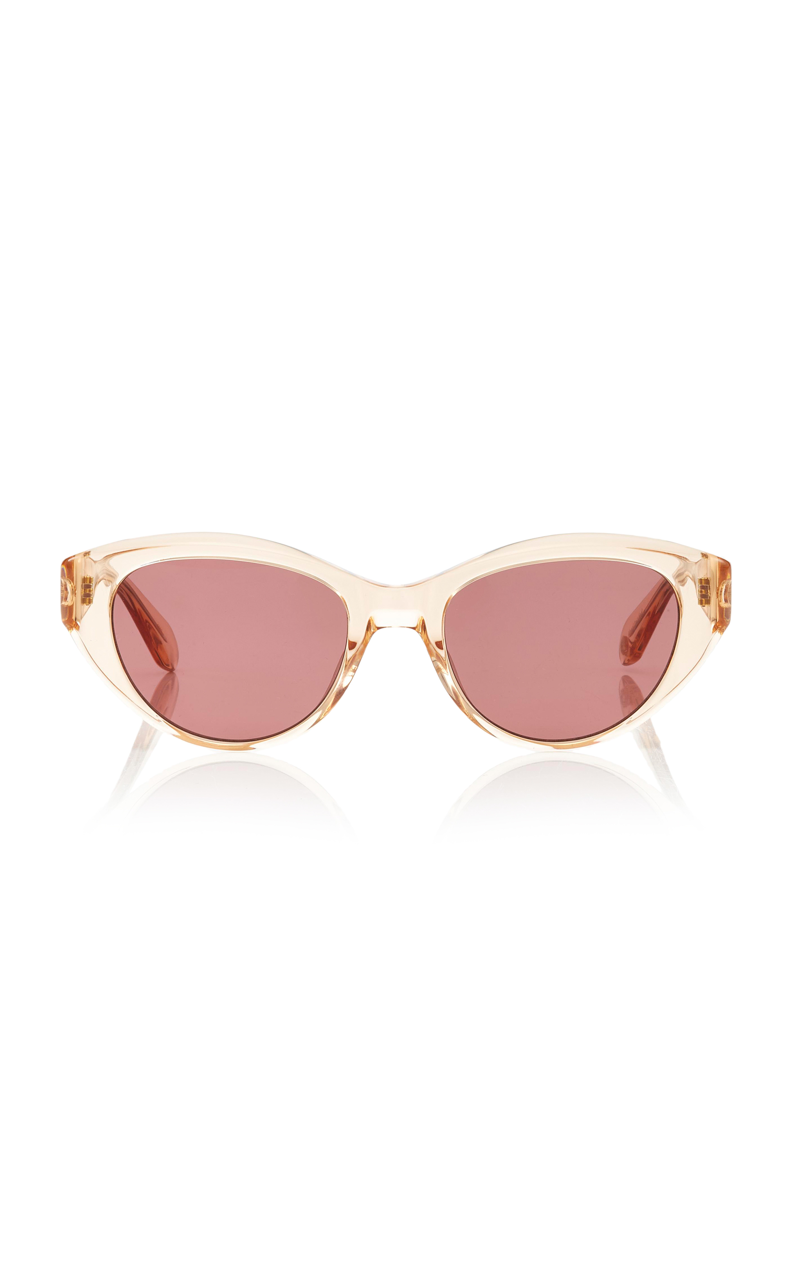 Del Rey 50 Cat-Eye Acetate Sunglasses Garrett Leight SLnLzI4I8