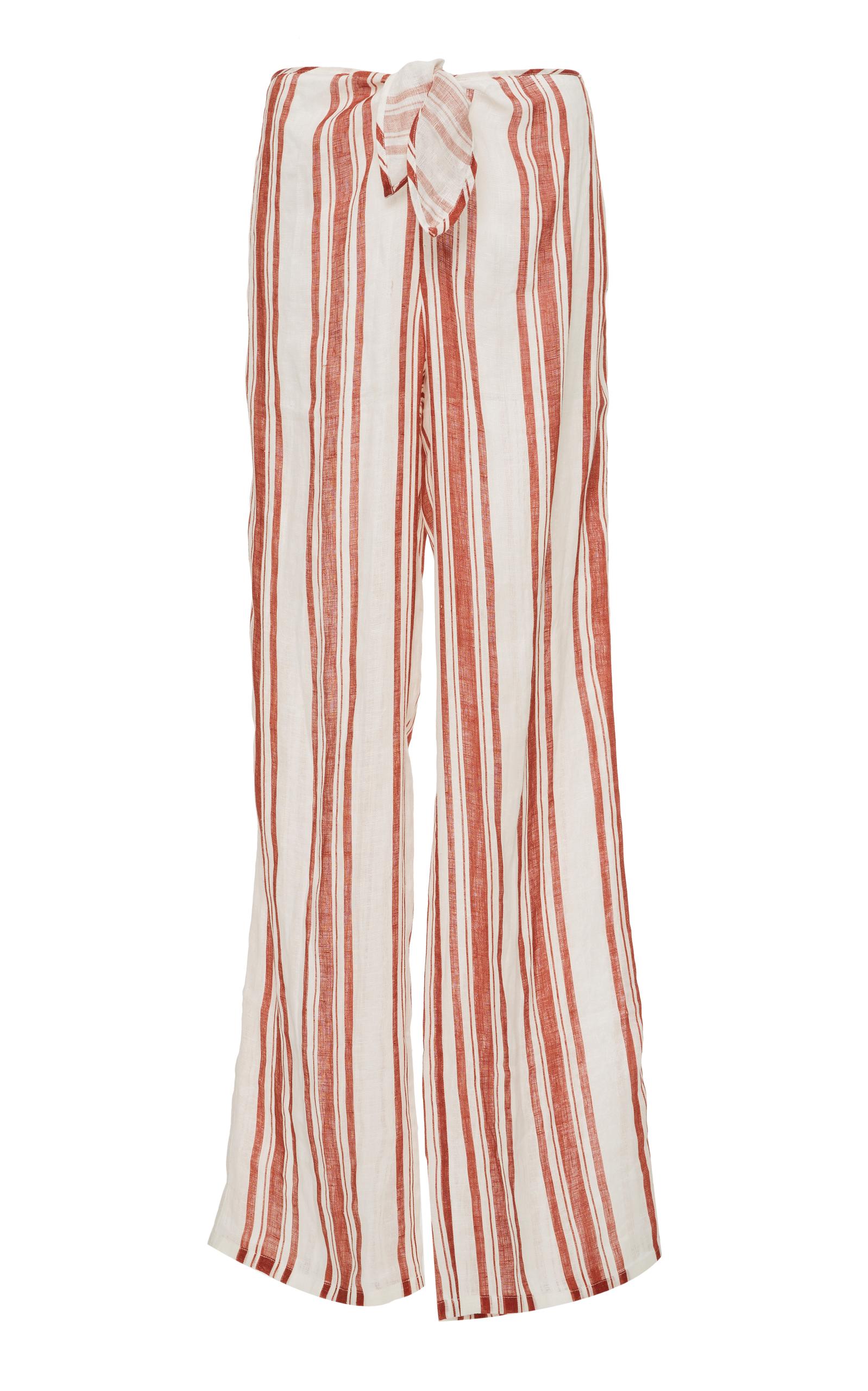 Kellen Stripe Beach Pant By Tory Burch Moda Operandi Dress