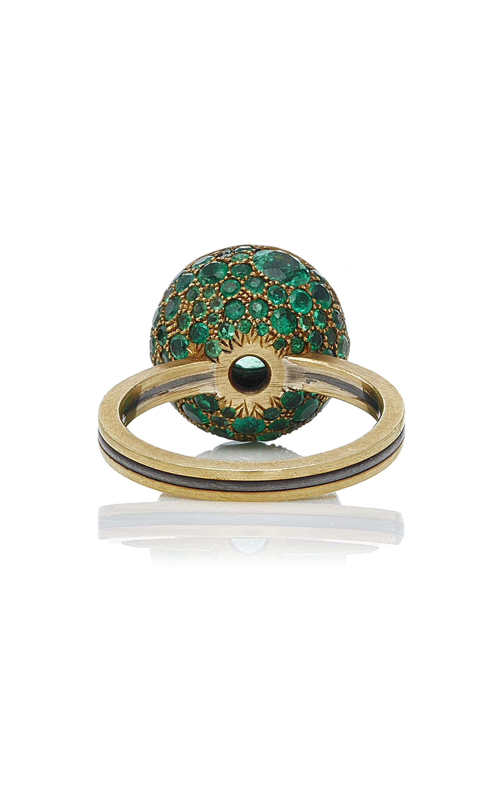 rings unique sarkisyan beautiful arman wedding bridal fashion green emerald hbz engagement emeral