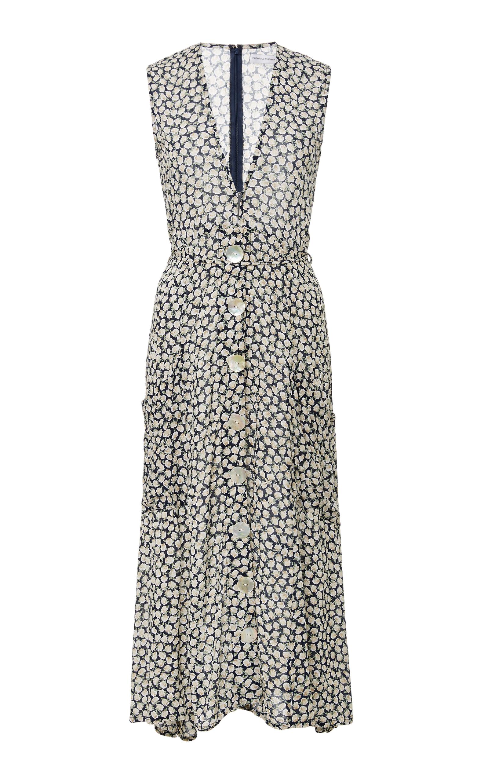 Solange Midi Dress Faithfull The Brand 3gv5DCQ