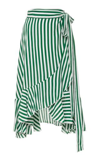 FAITHFULL   Faithfull Tramonti Striped Midi Skirt   Goxip