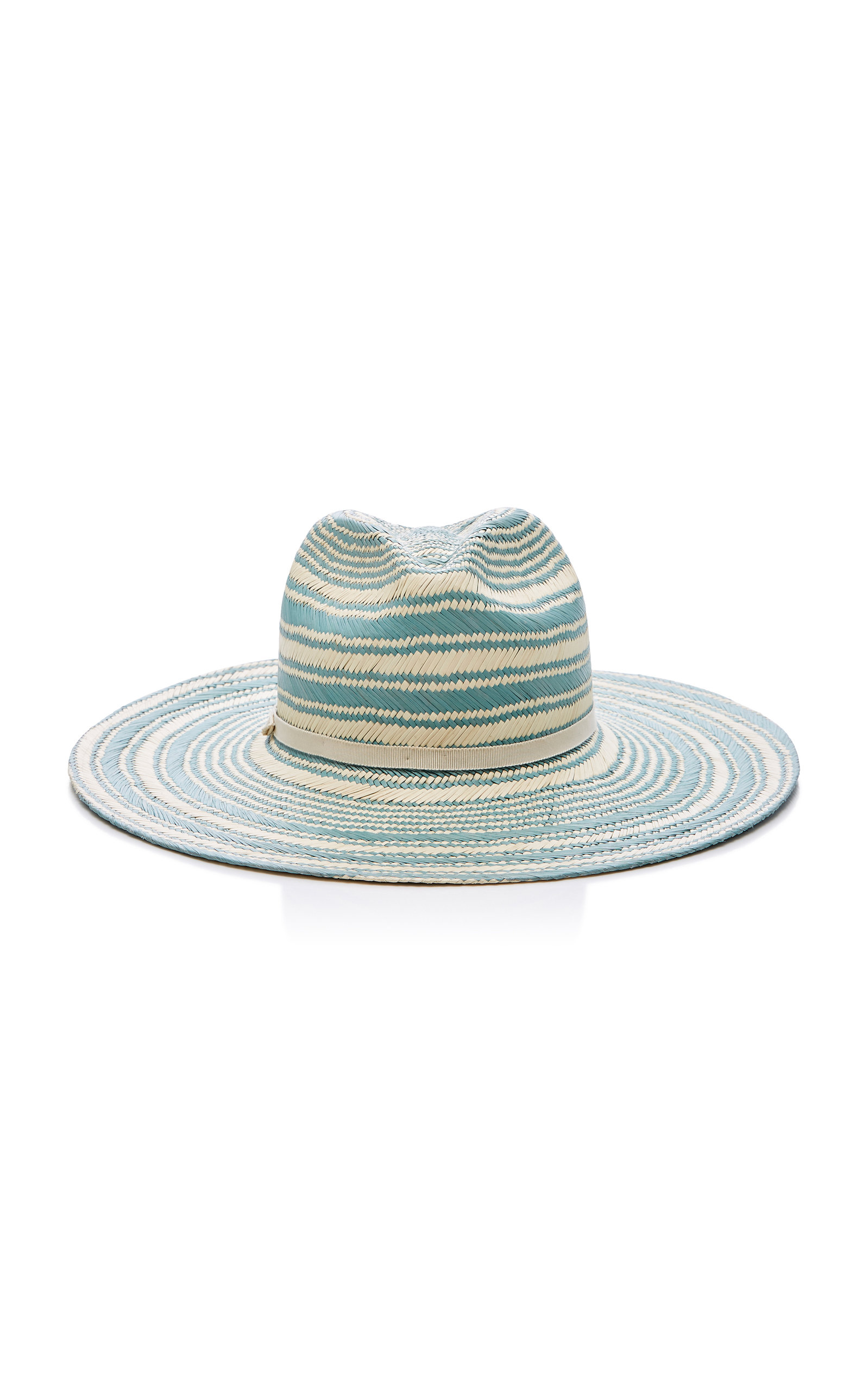YESTADT MILLINERY SOMBA WOVEN STRAW HAT